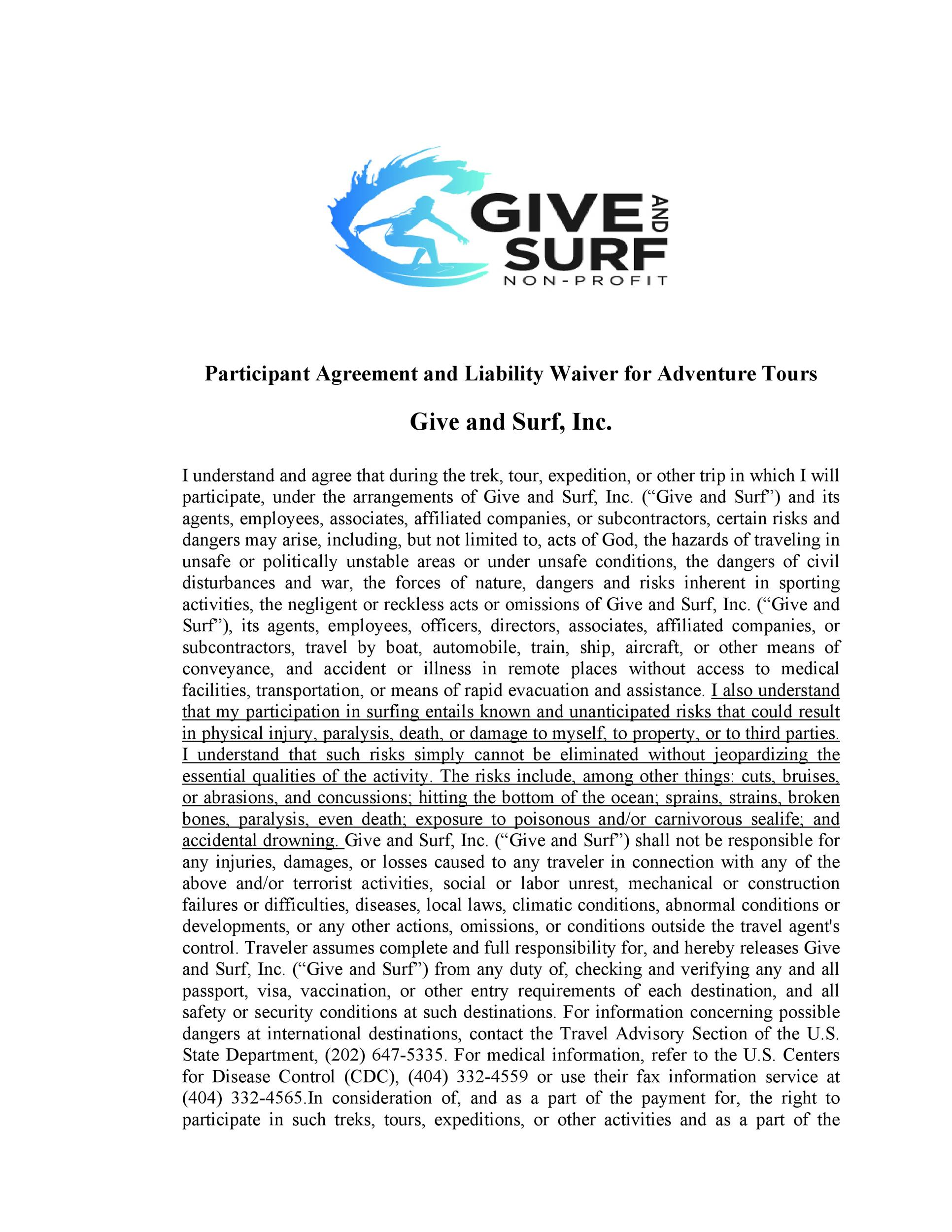 Free release of liability form 31