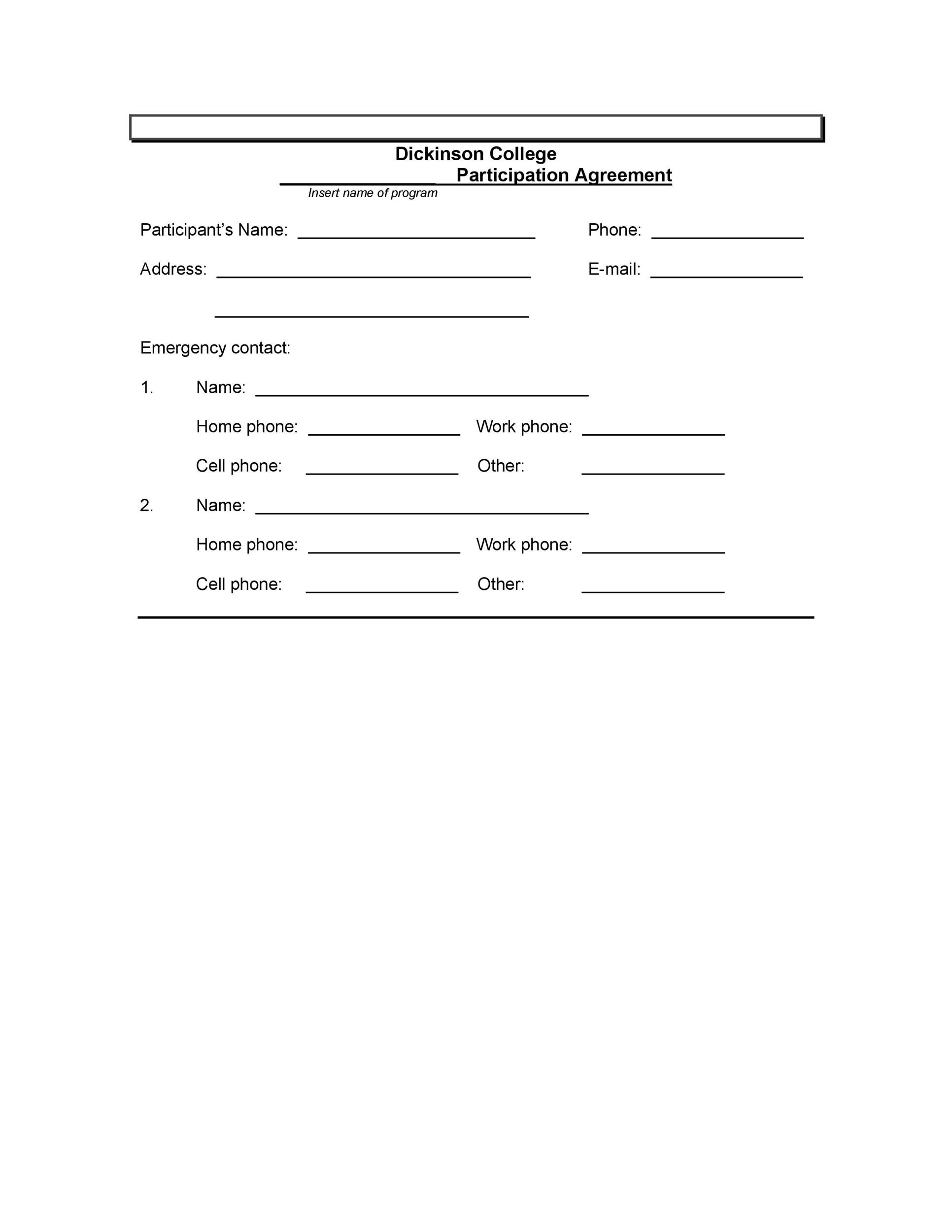 Free release of liability form 35