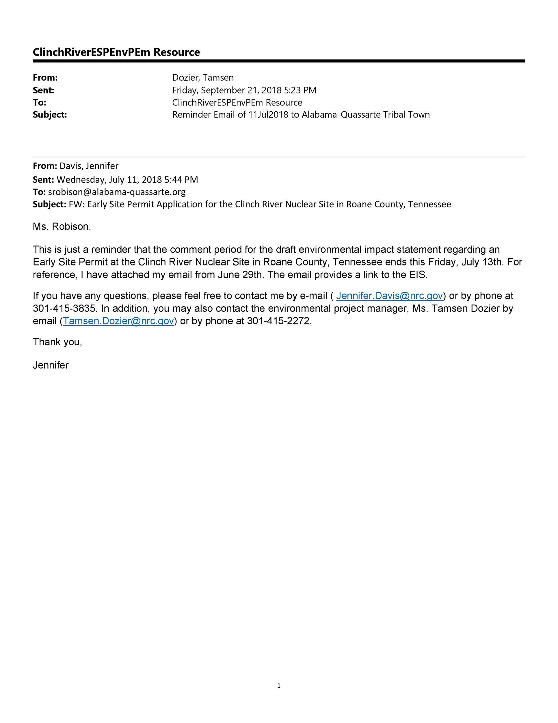Free reminder email sample 20