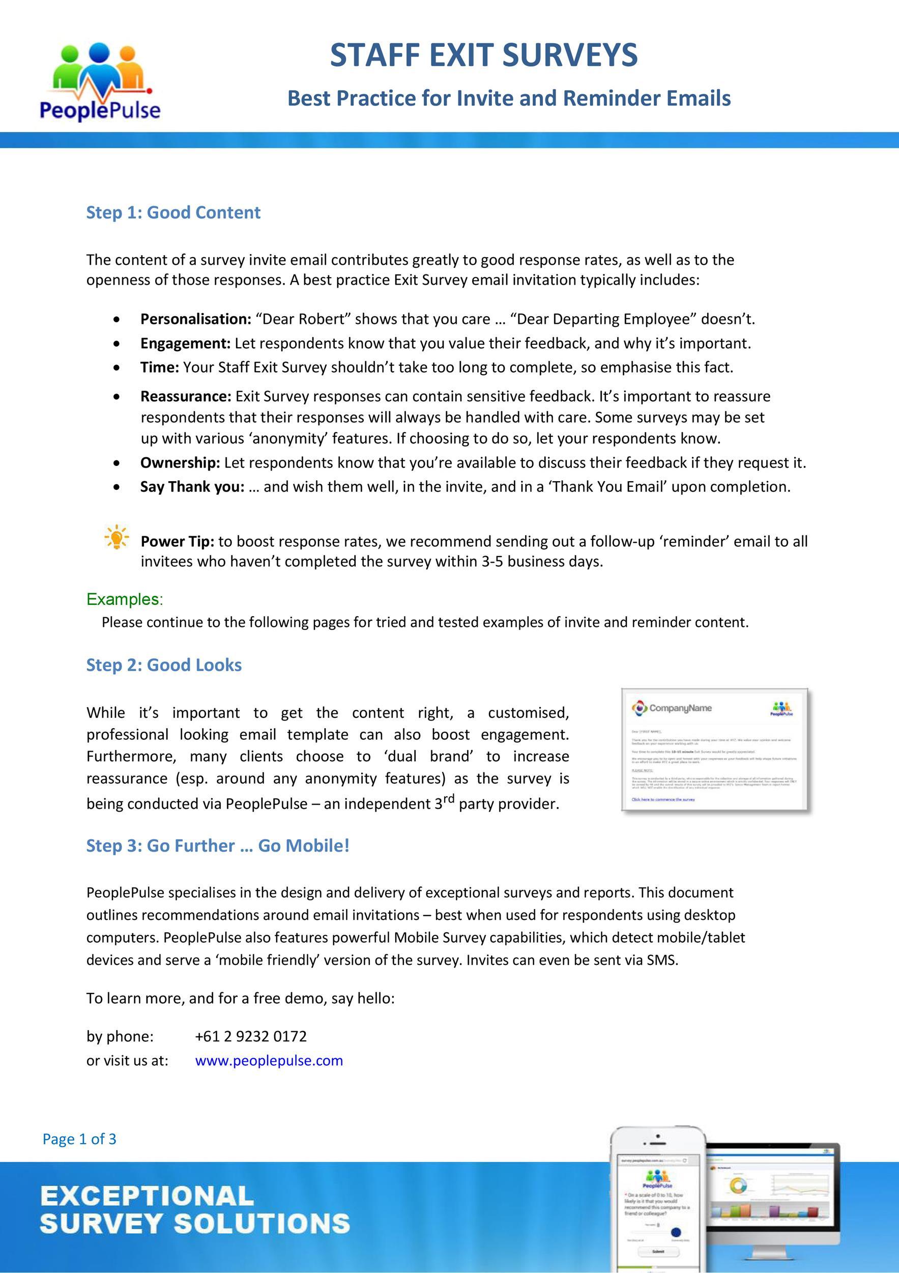 Free reminder email sample 23