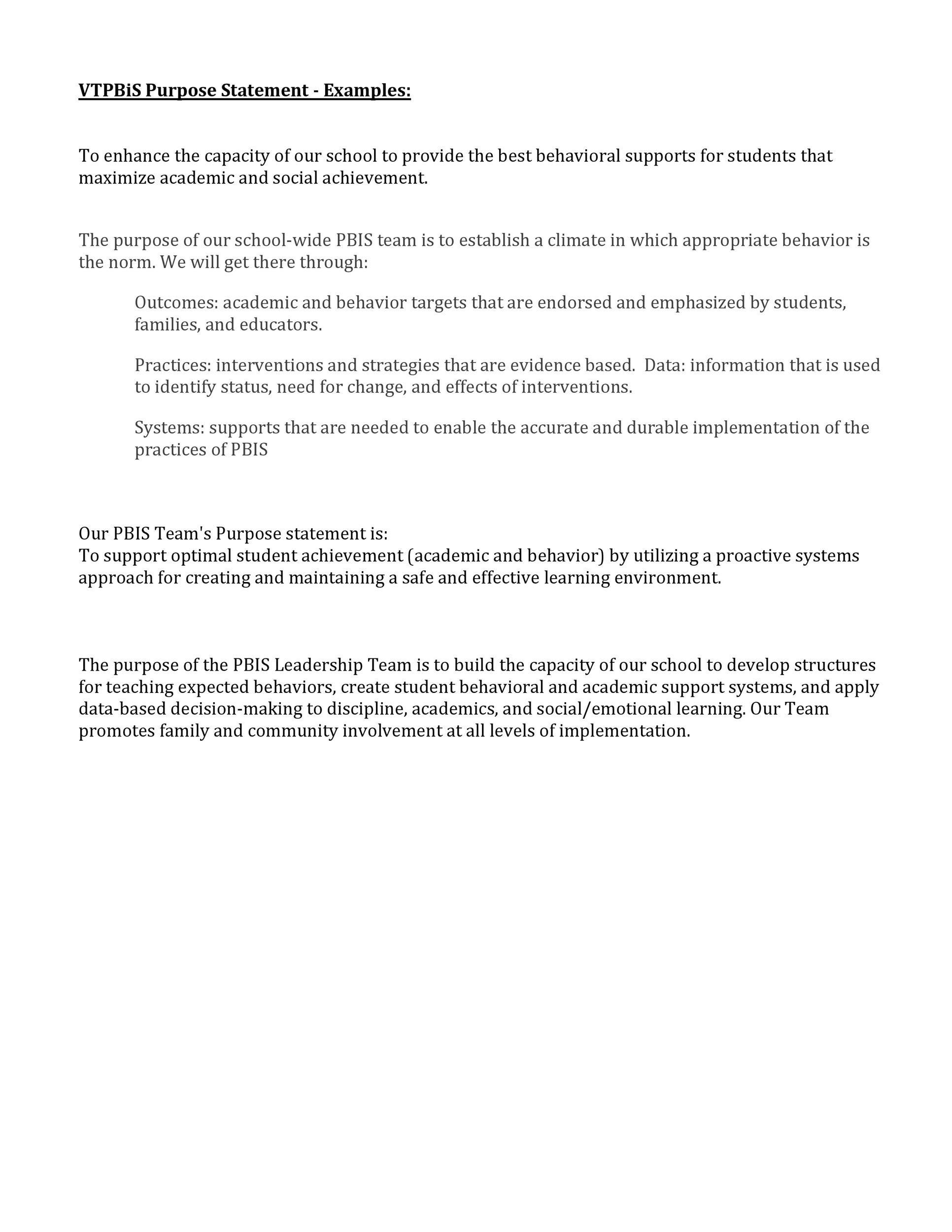 Free statement of purpose example 44