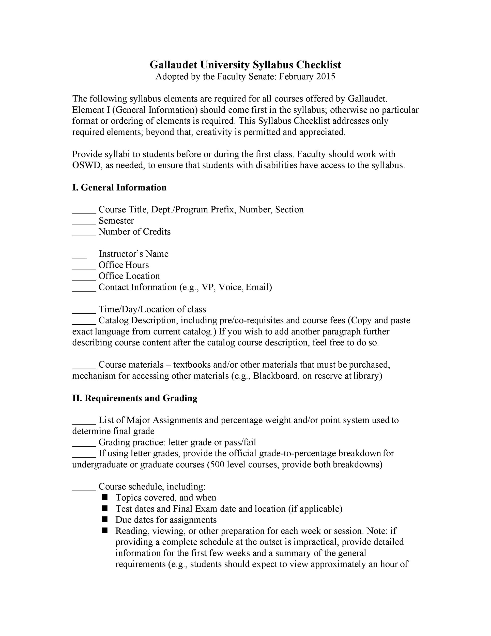Free sylabus template 22