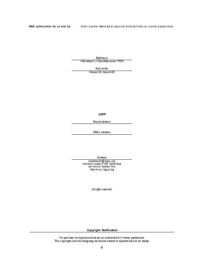 Free technical report template 04