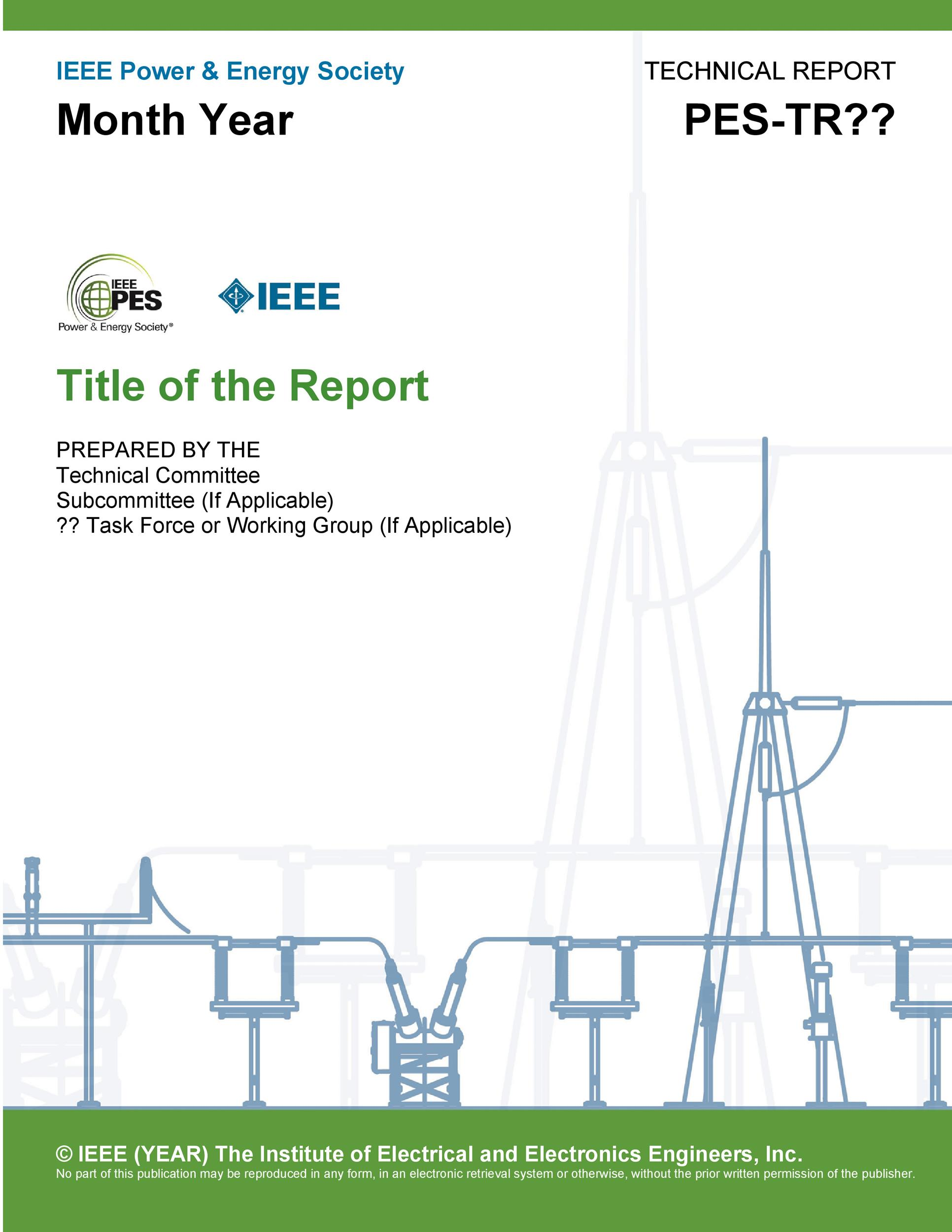 Free technical report template 05