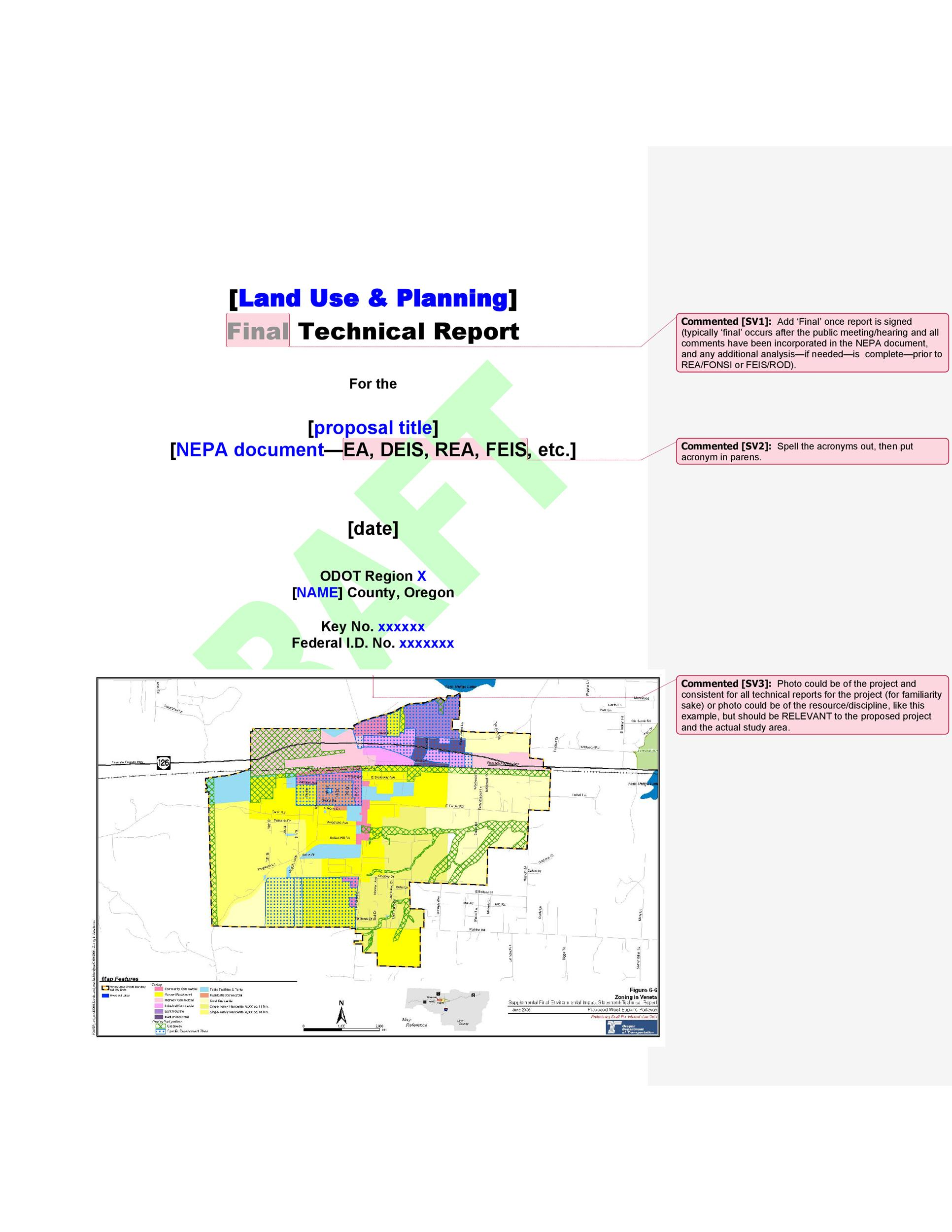 Free technical report template 06