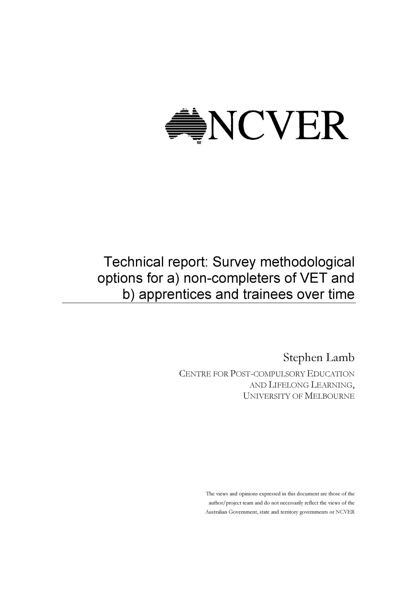 Free technical report template 14