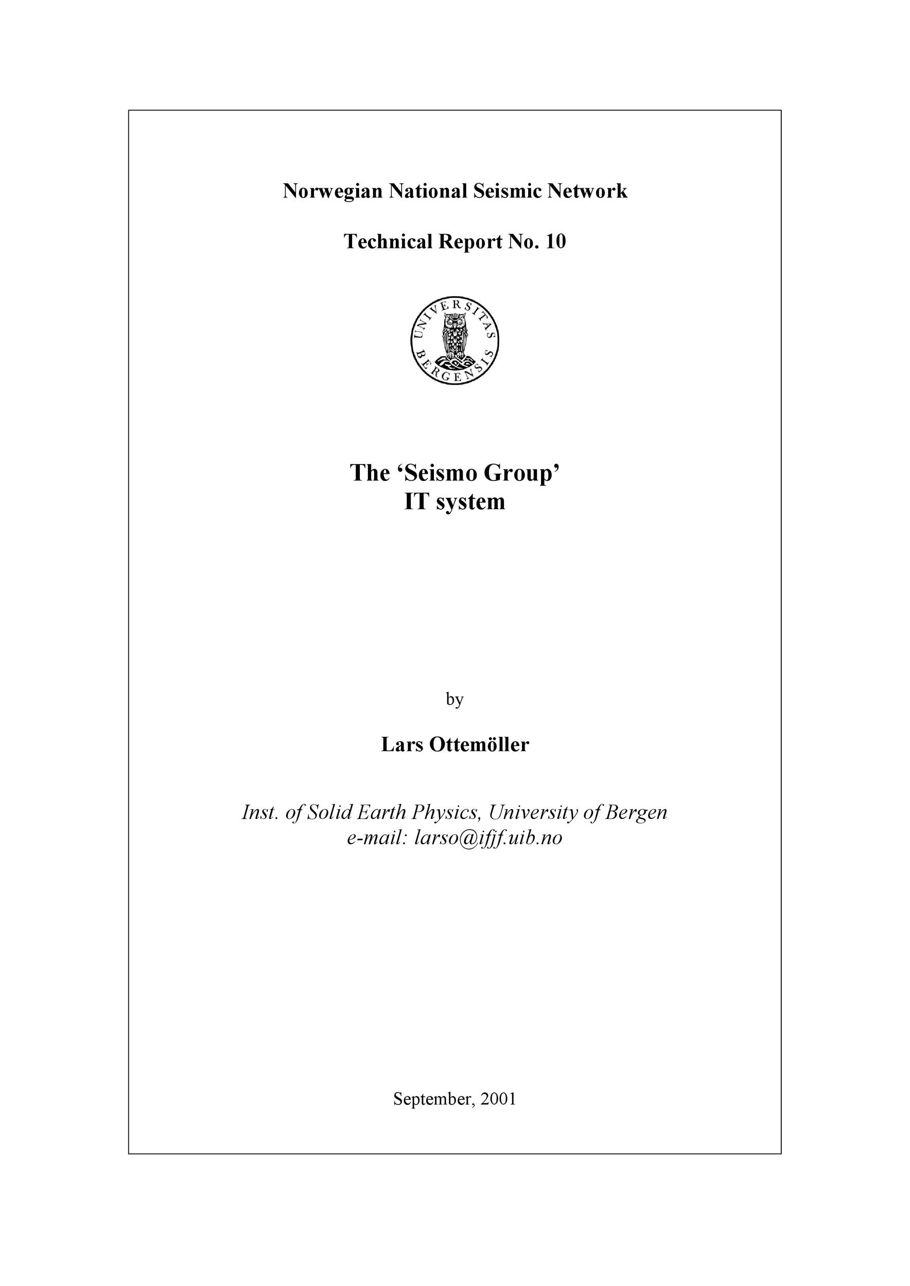 Free technical report template 26