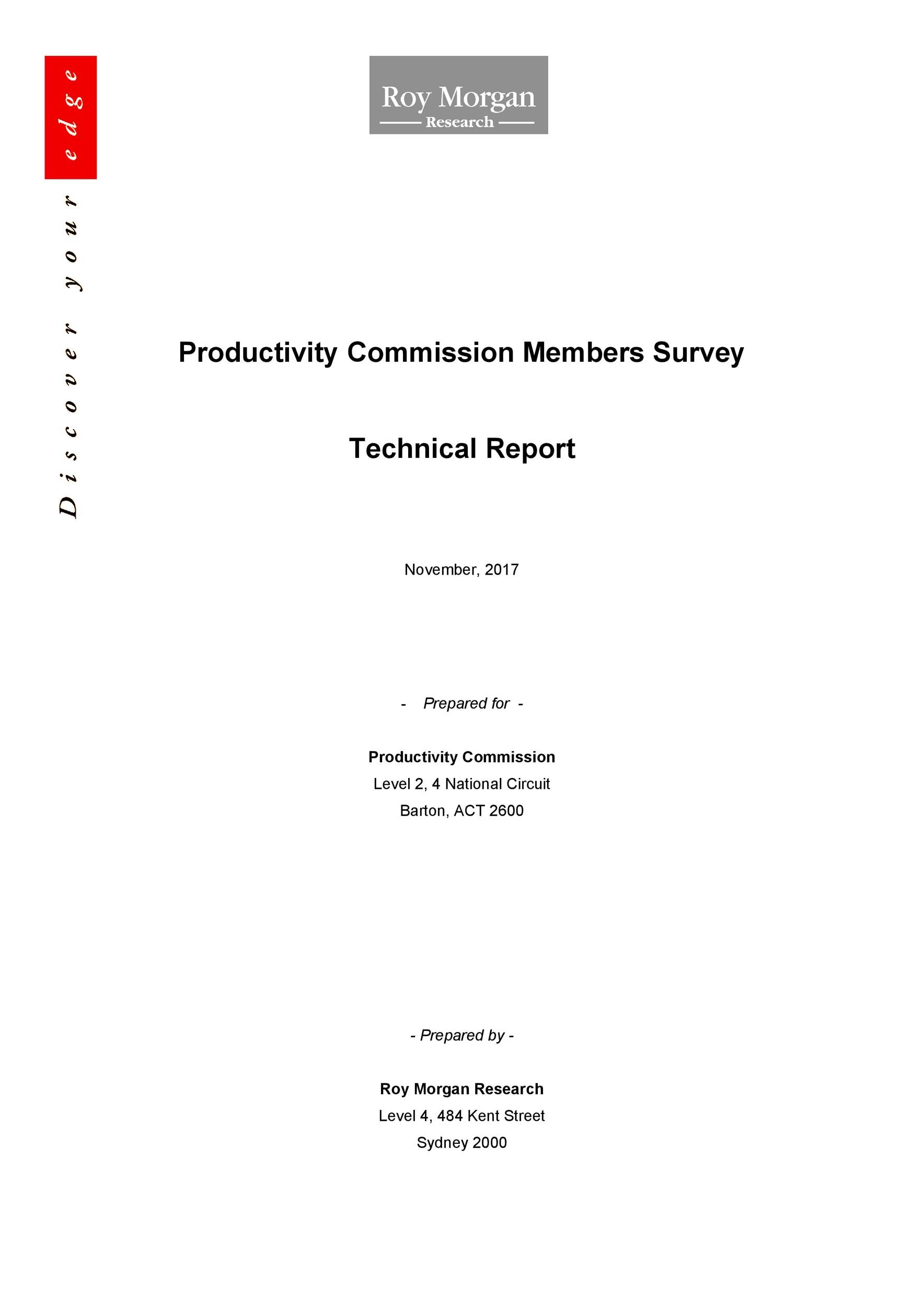 Free technical report template 37