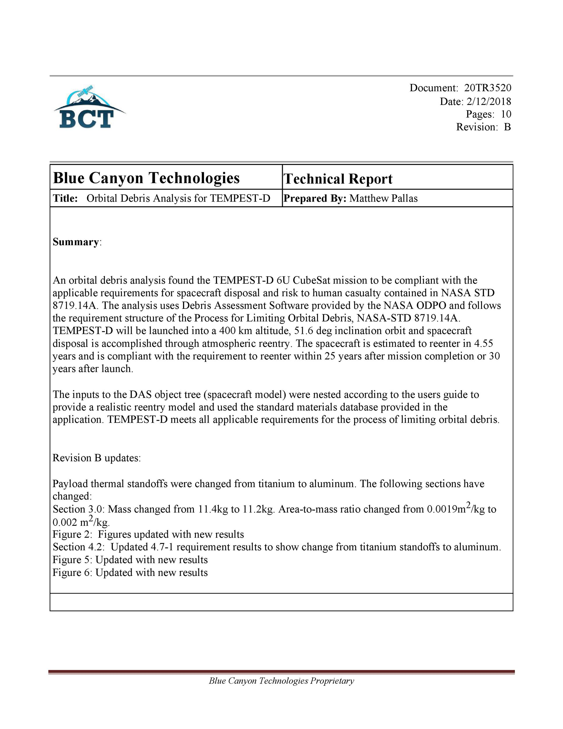 Free technical report template 43