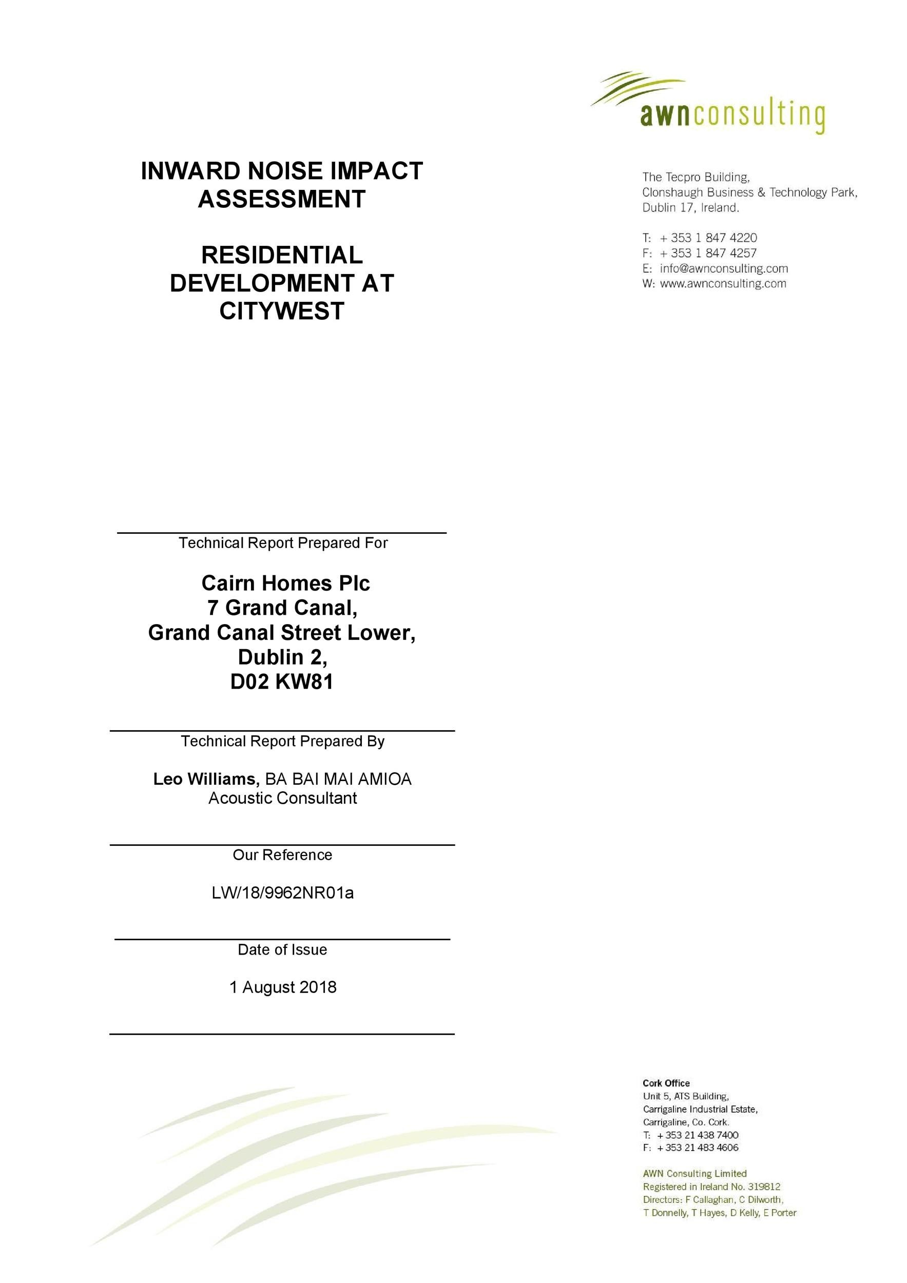Free technical report template 48