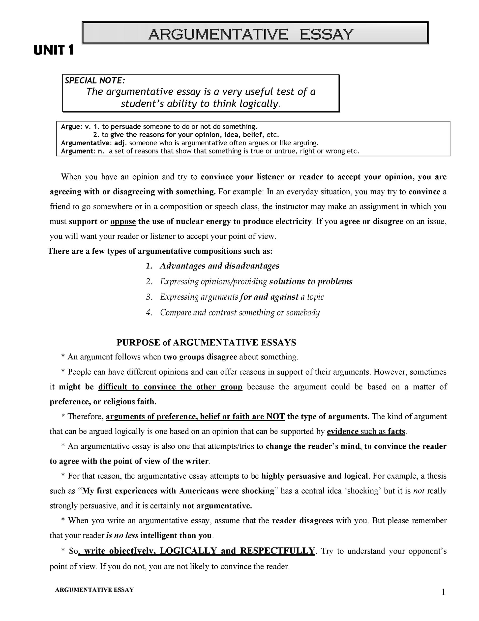 Free thesis statement template 30