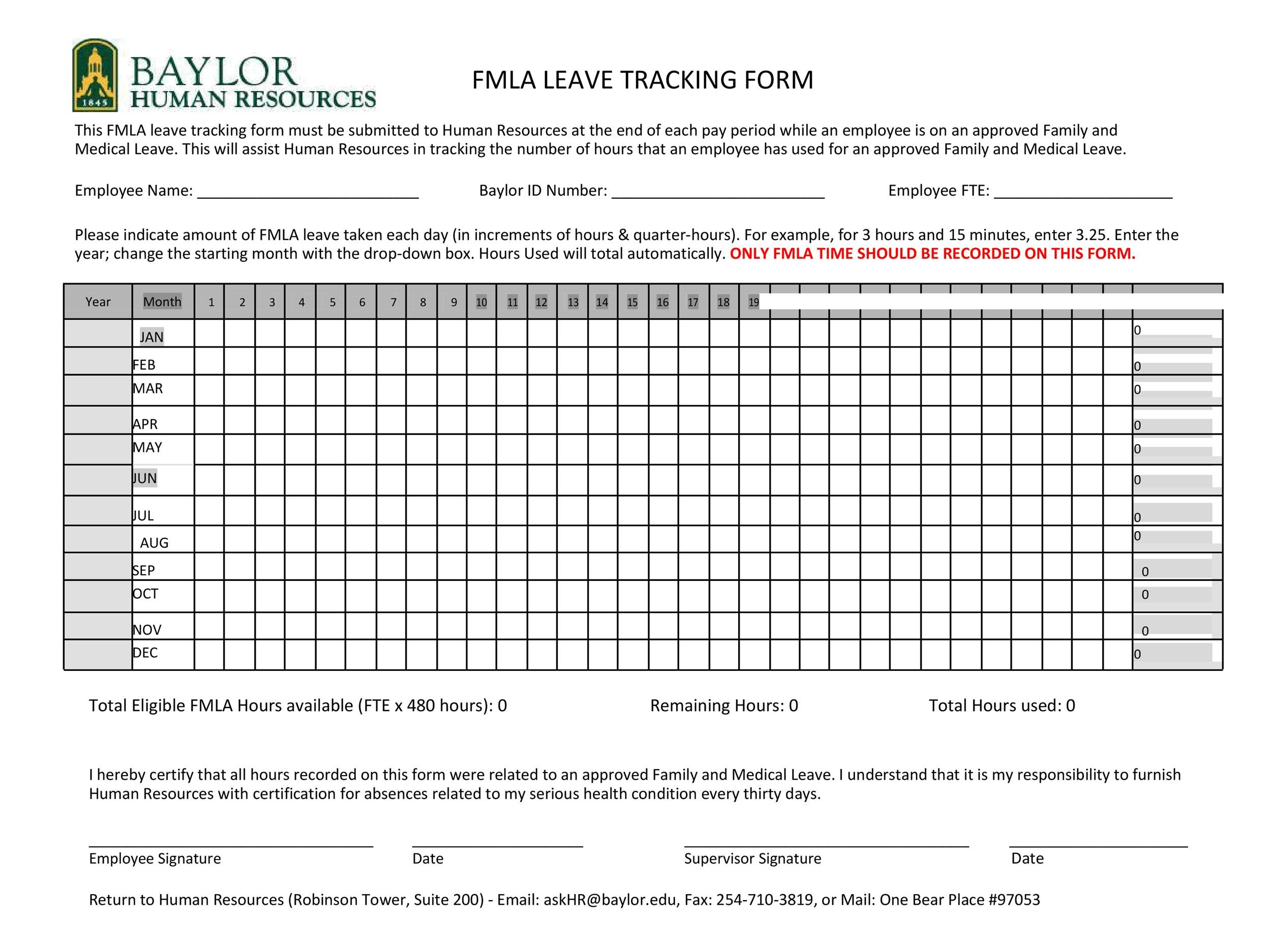 Free vacation tracker 50