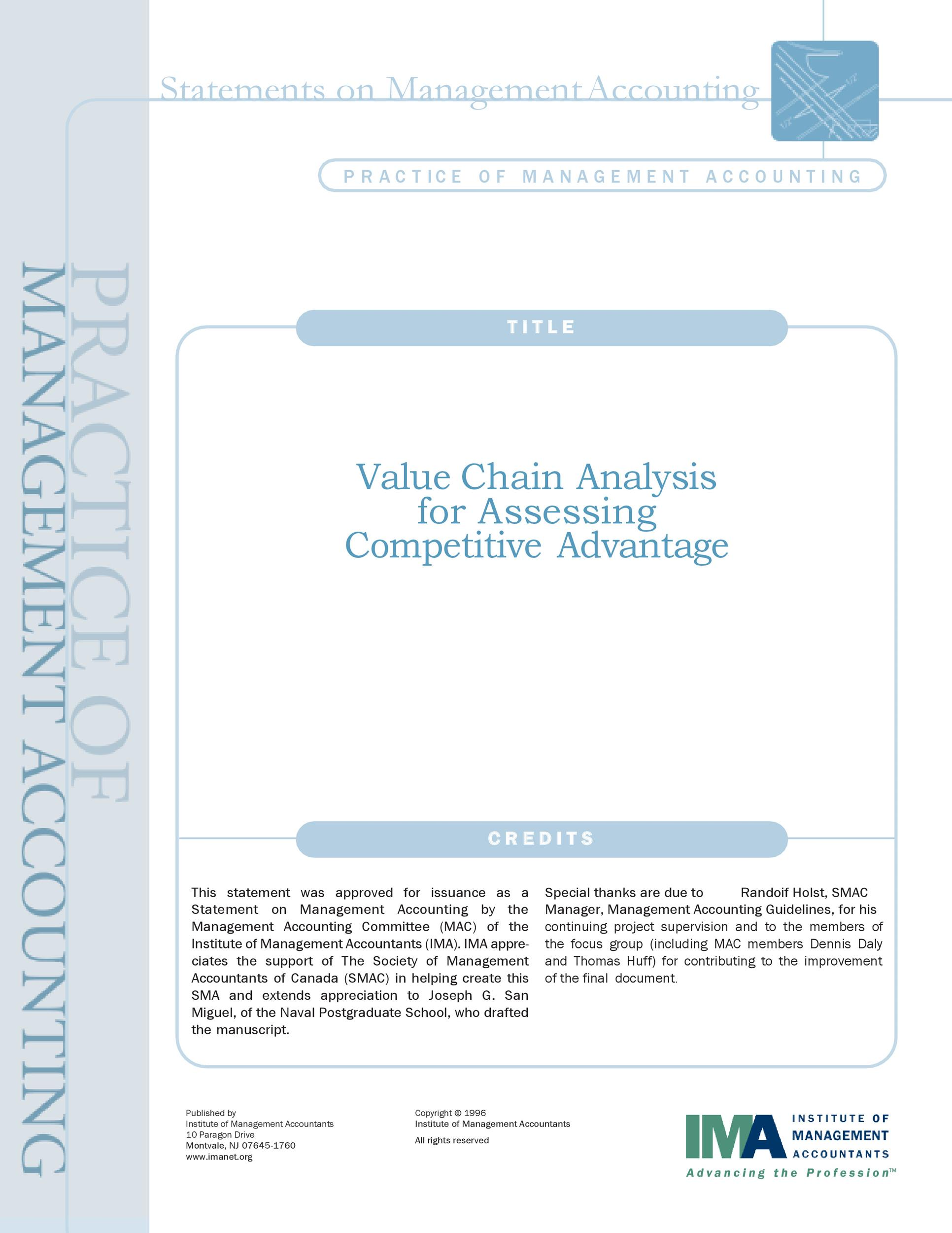 Free value chain analysis template 08