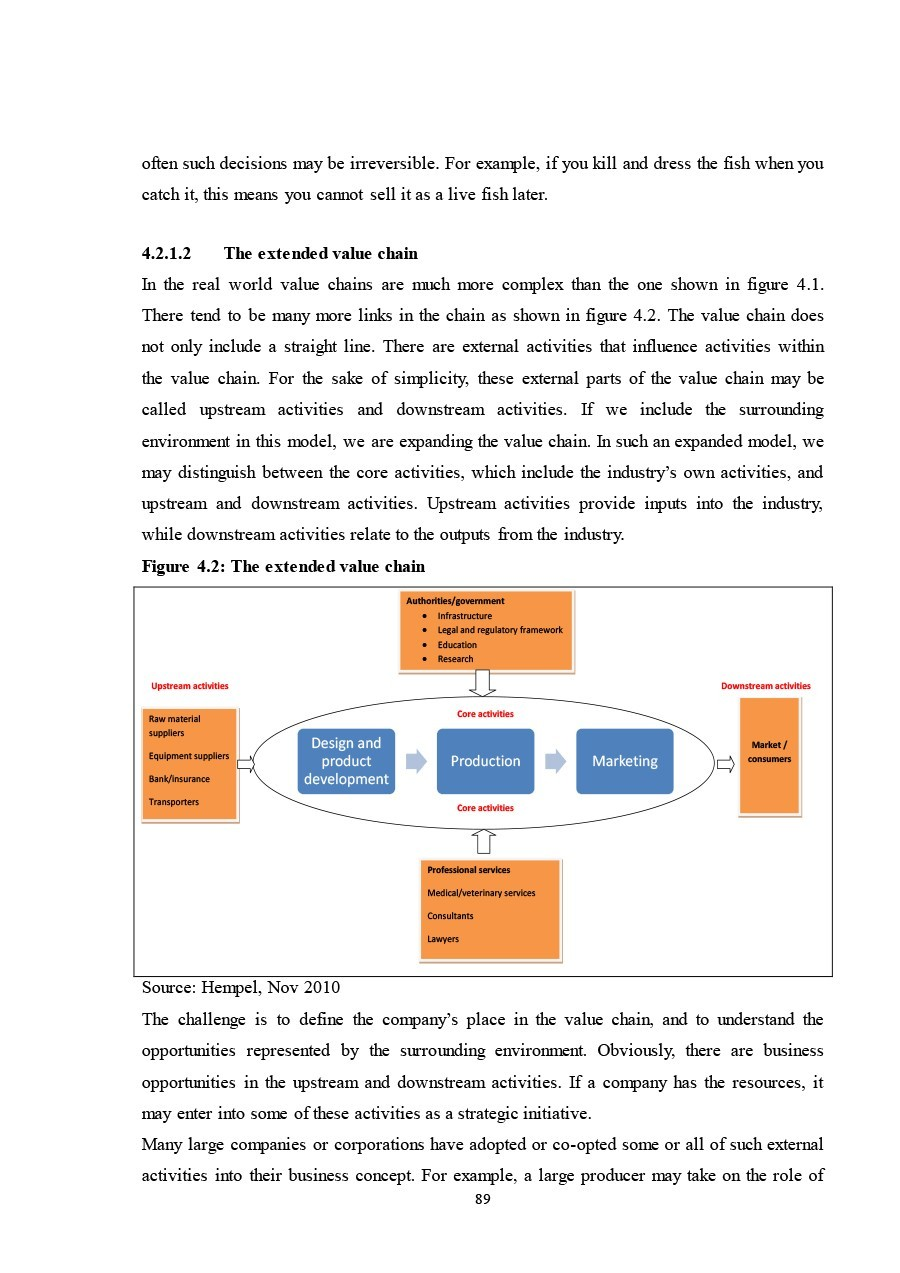 Free value chain analysis template 14