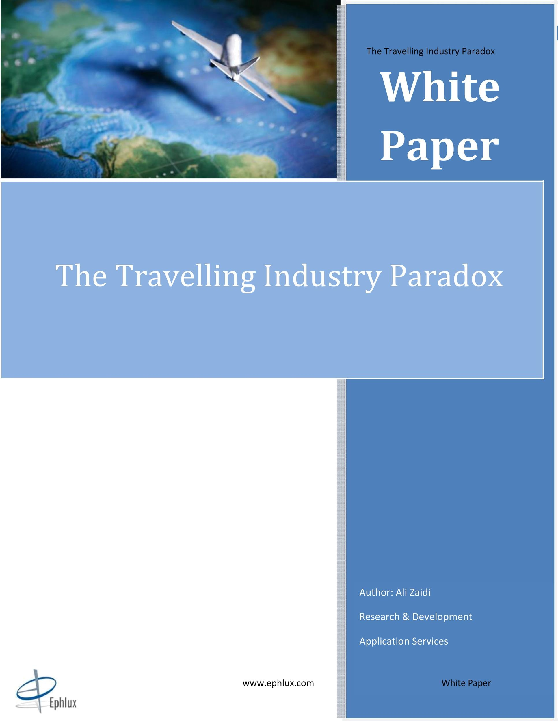 Free white paper template 15