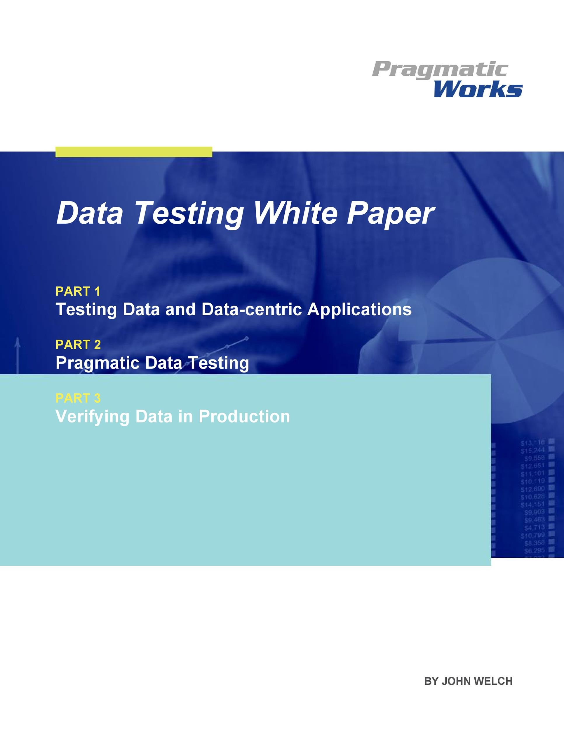 Free white paper template 18