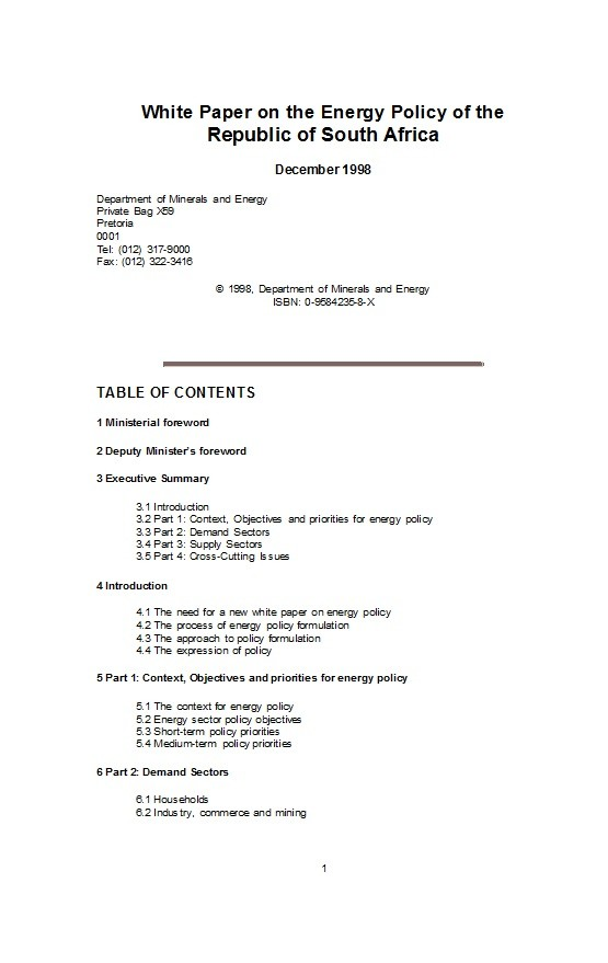 Free white paper template 19