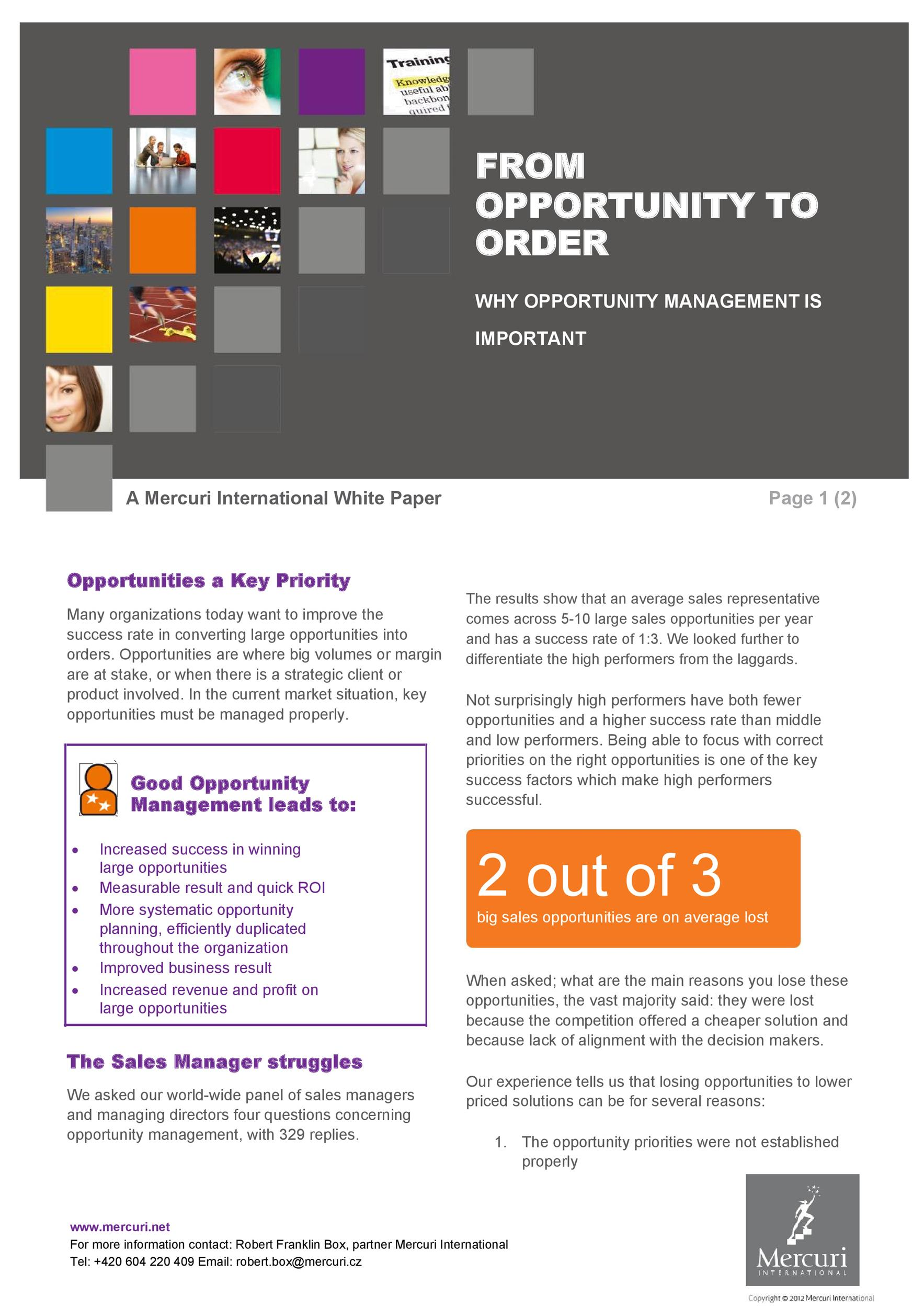 Free white paper template 29