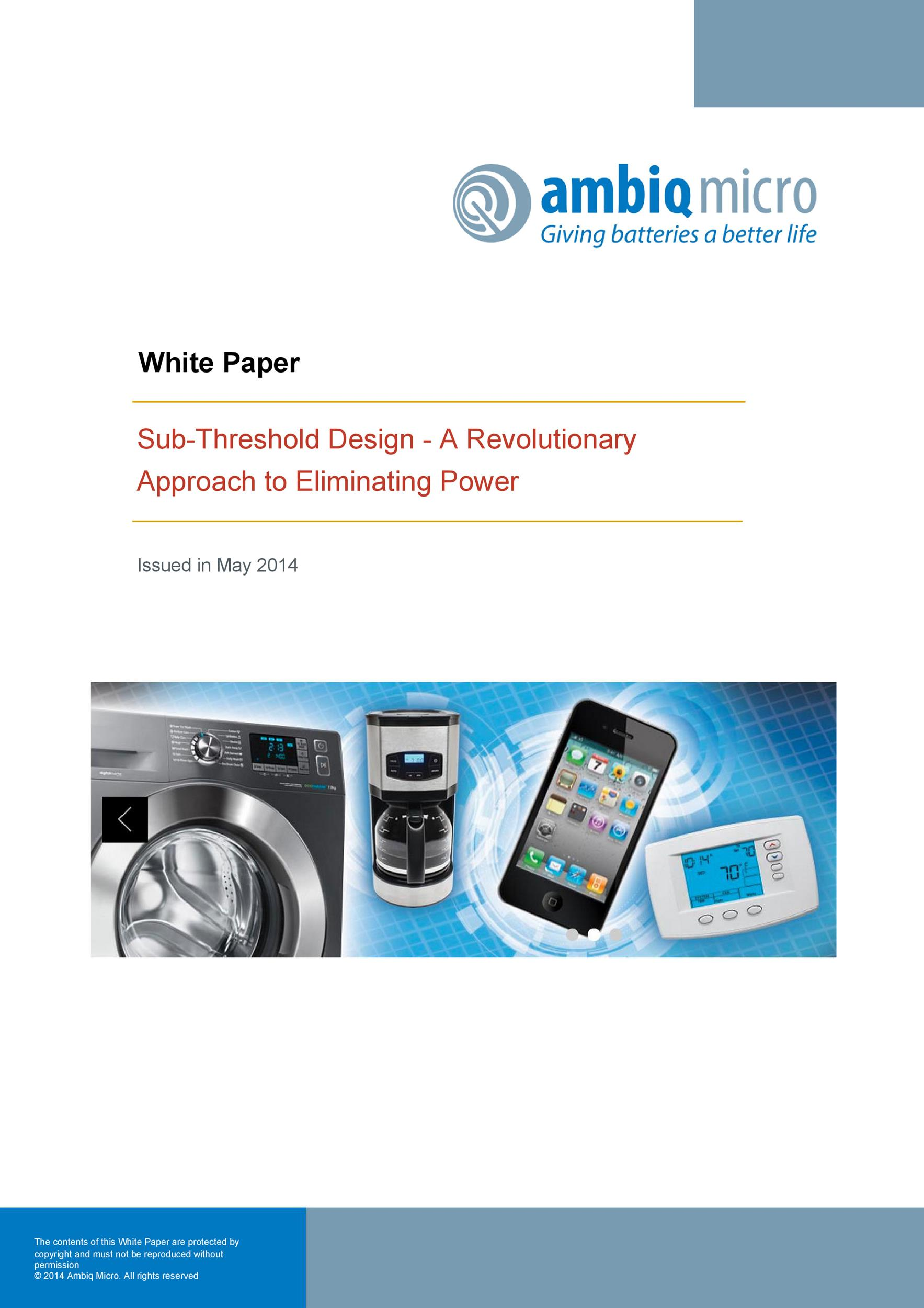 Free white paper template 44