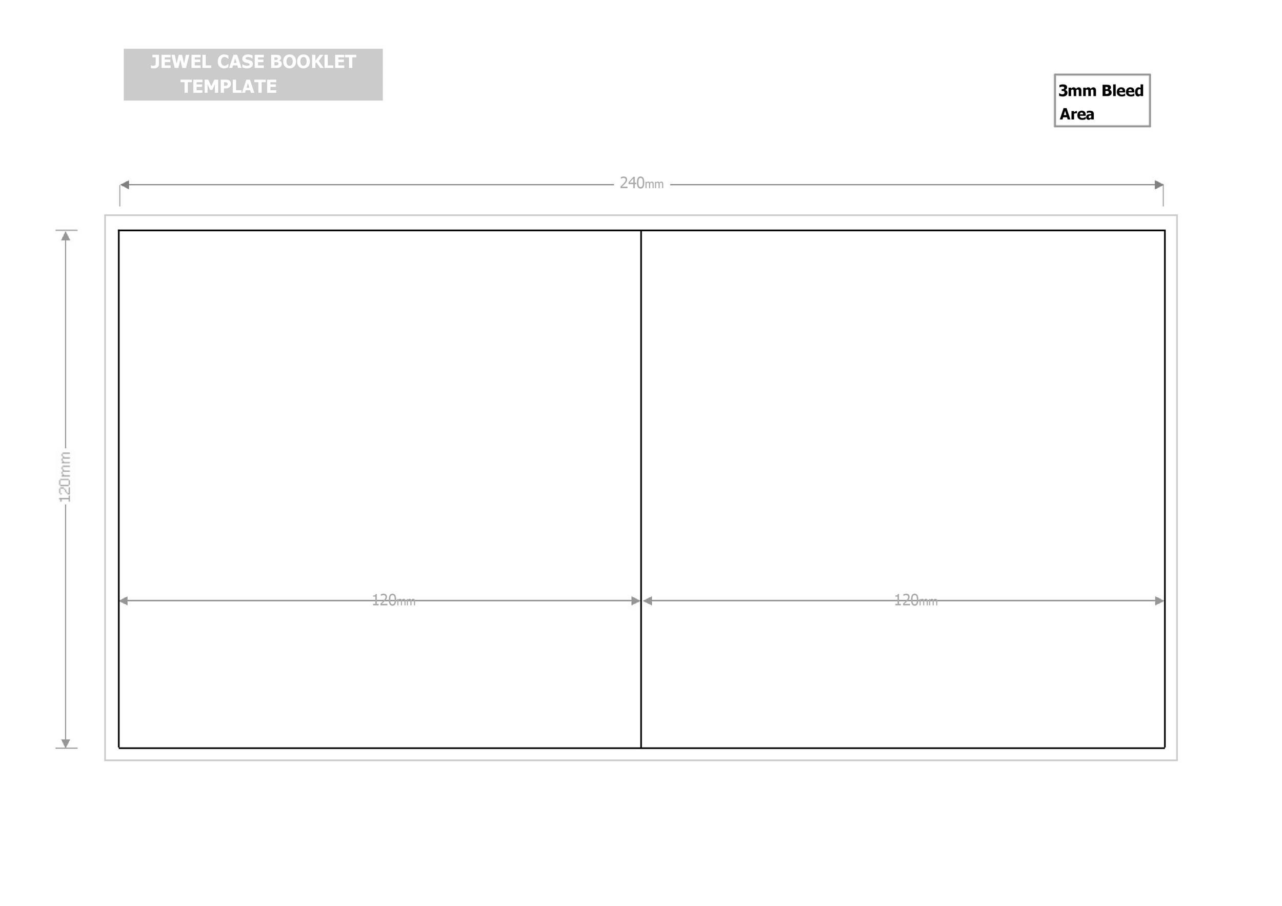 Free booklet template 04