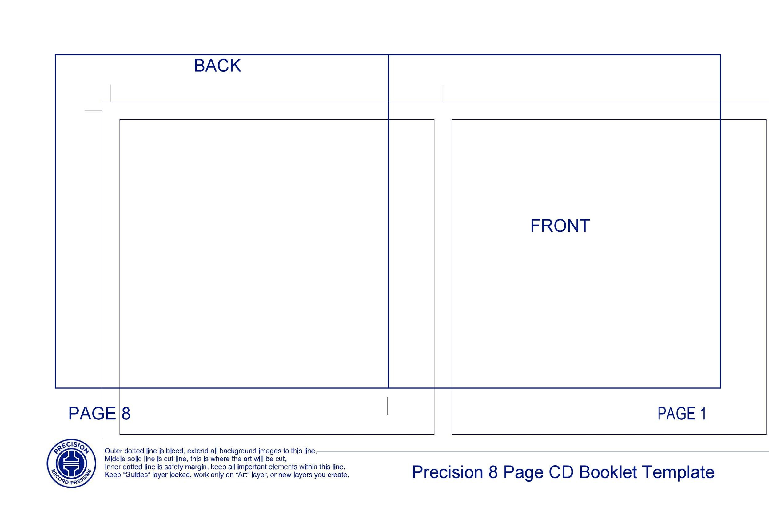 Free booklet template 09