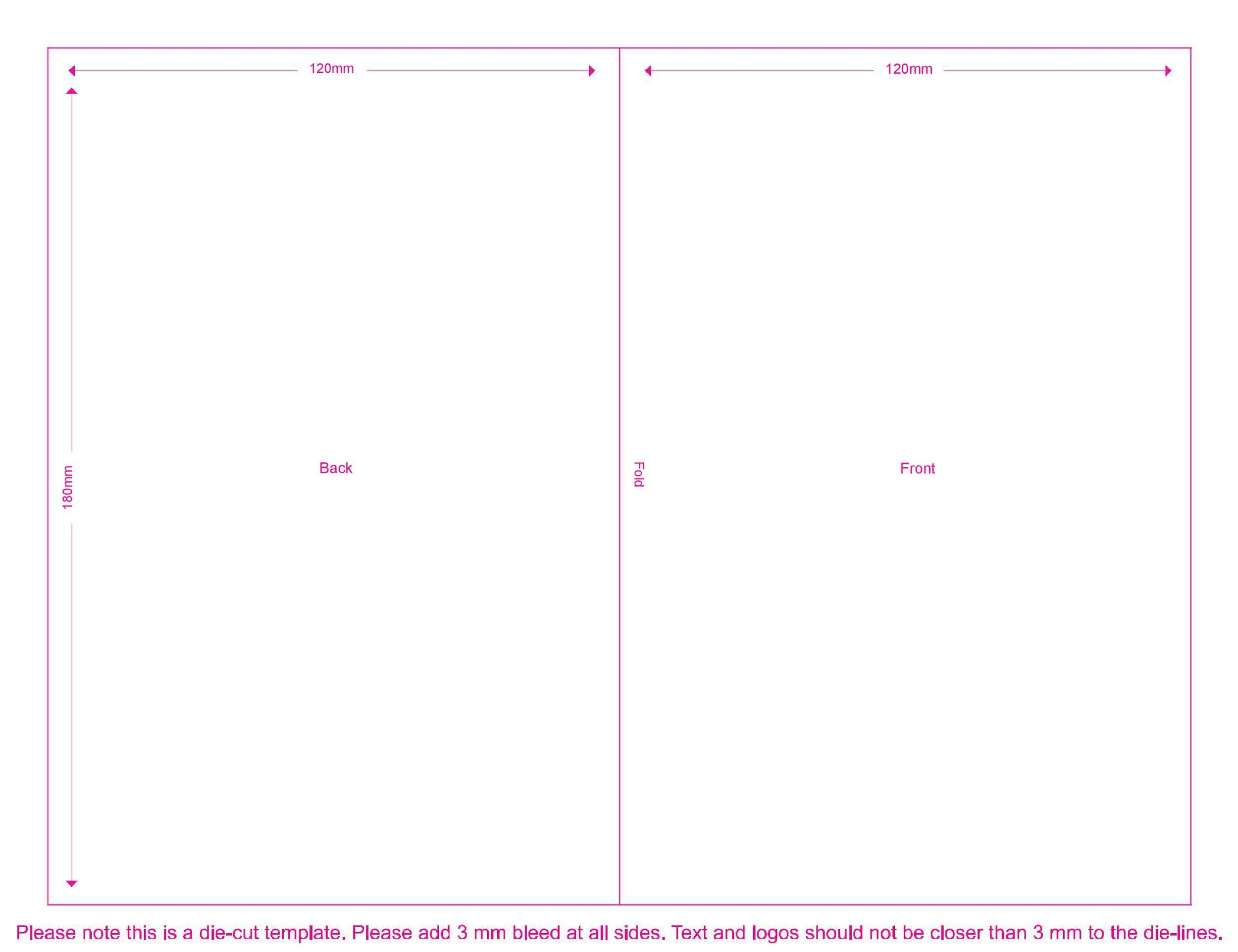 Free booklet template 14