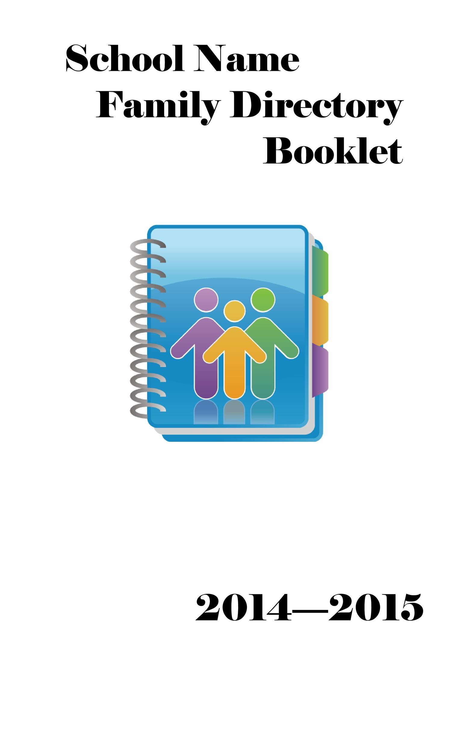 Free booklet template 19