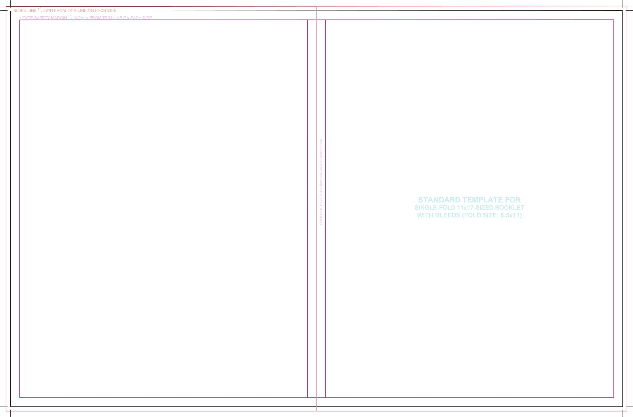 Free booklet template 32
