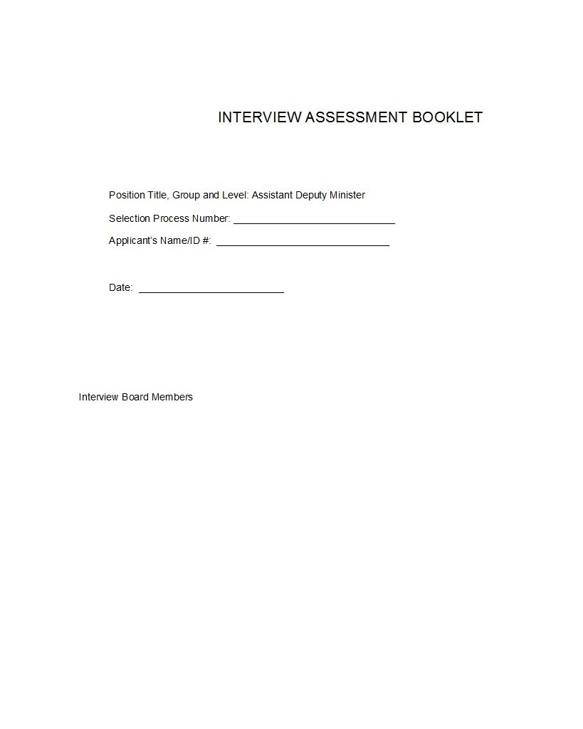 Free booklet template 40