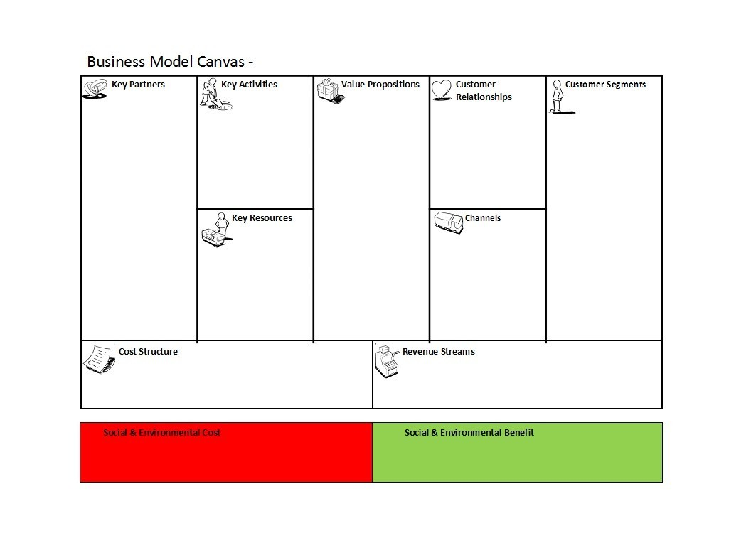 Free business model template 05