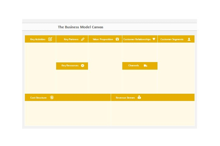 Free business model template 06