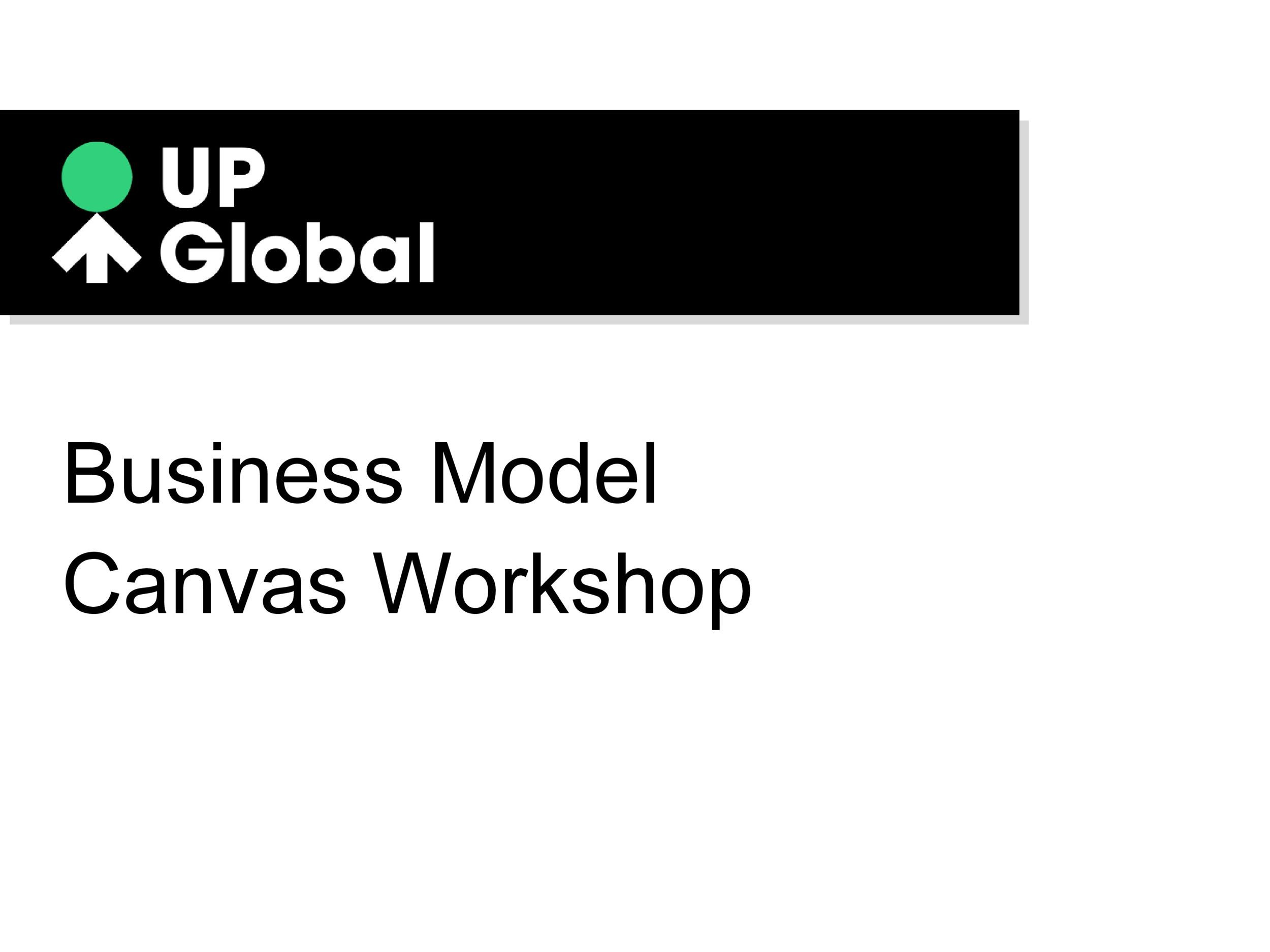 Free business model template 17