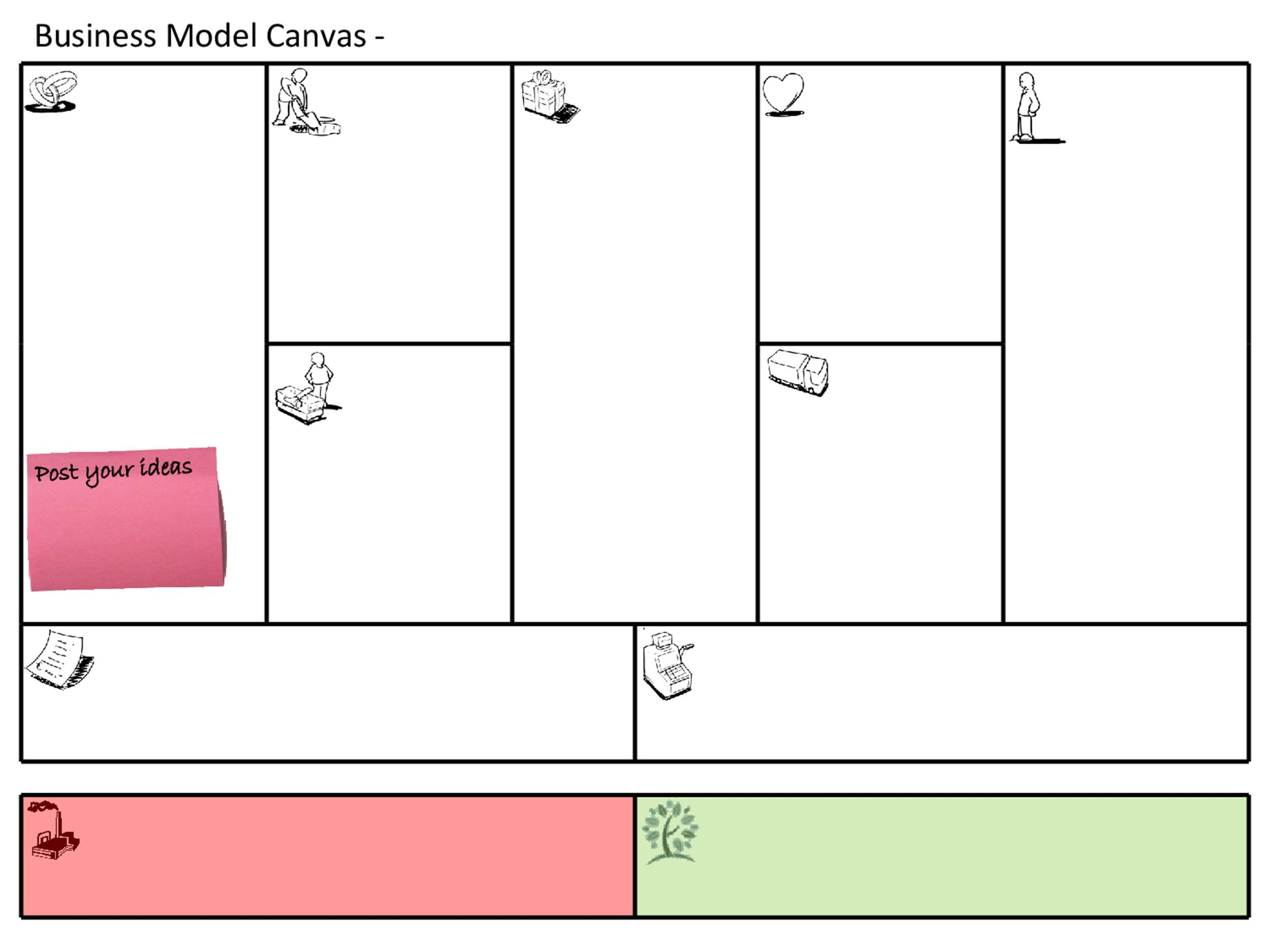 Free business model template 20