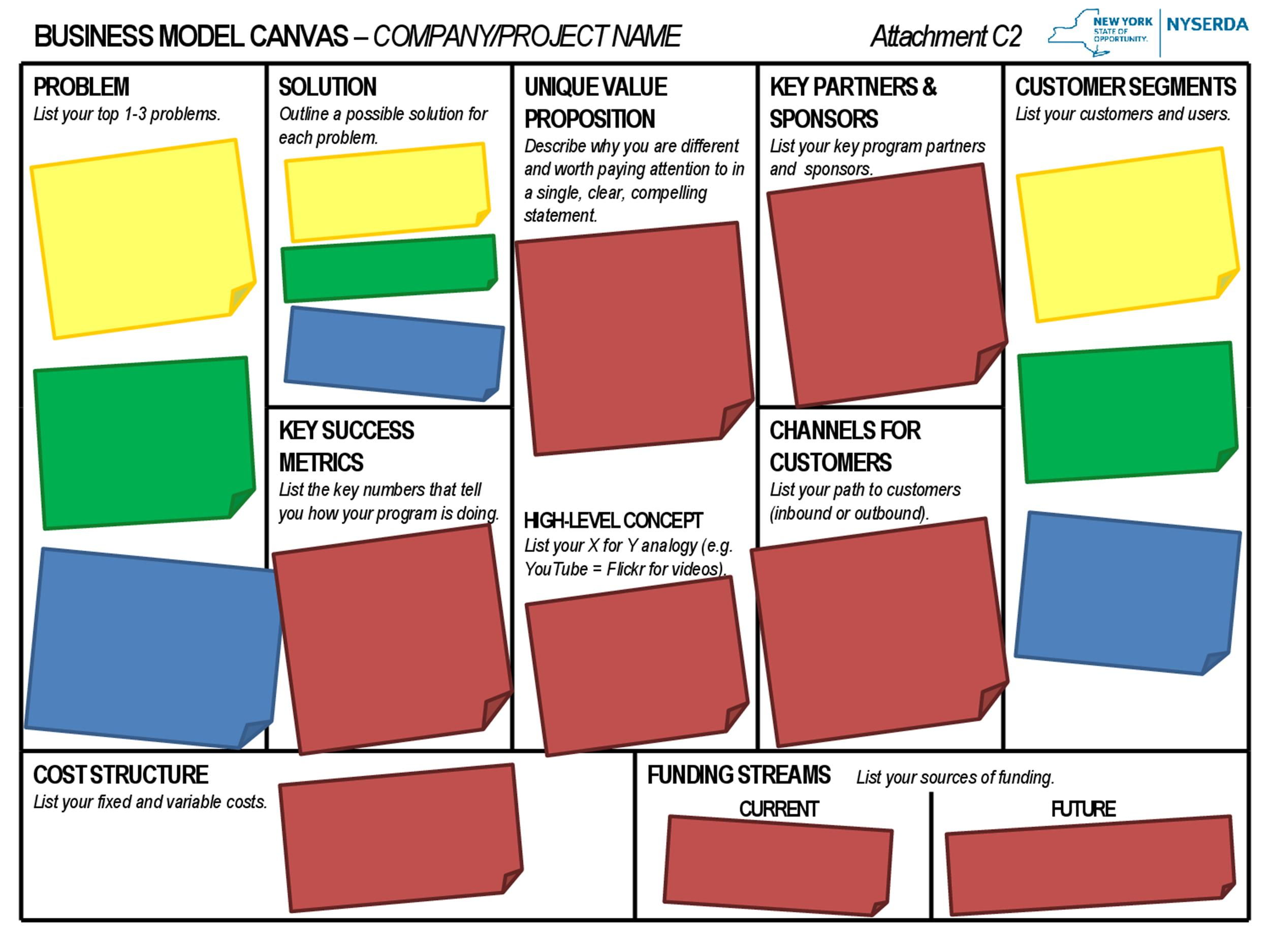Free business model template 29