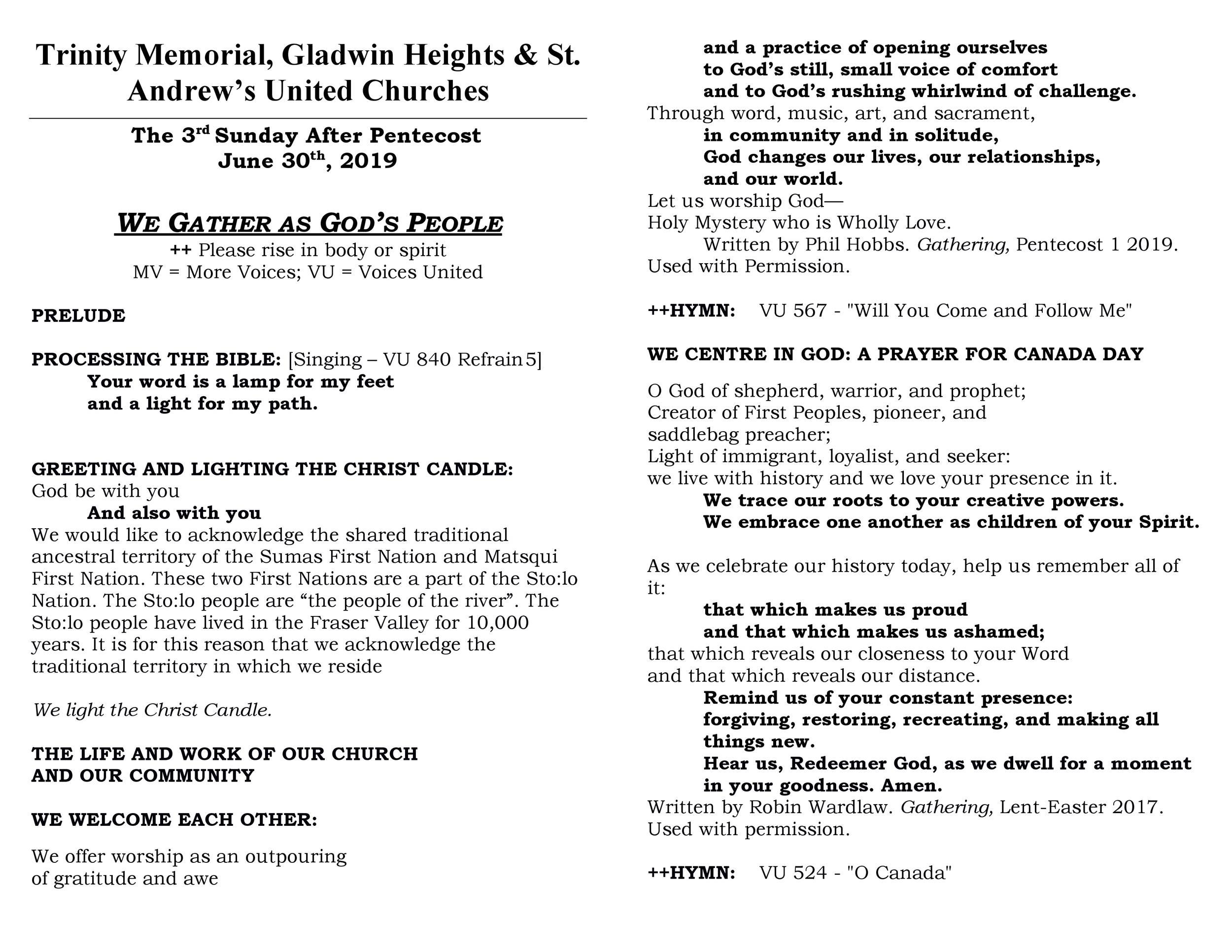 Free church bulletin templates 29