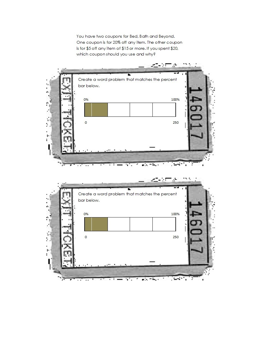 Free exit ticket template 23
