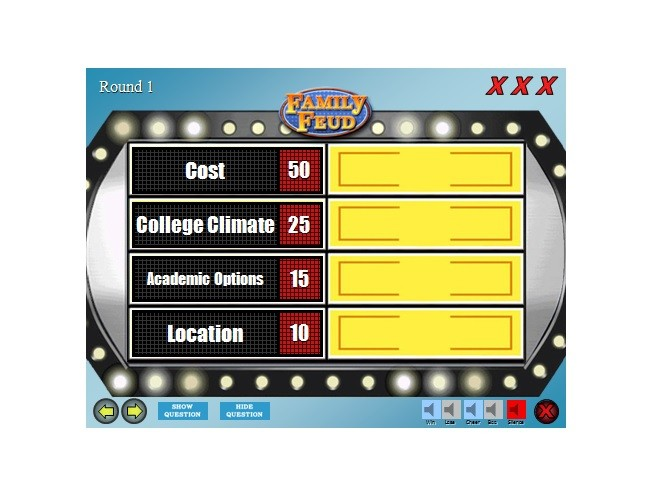 Free family feud template 03