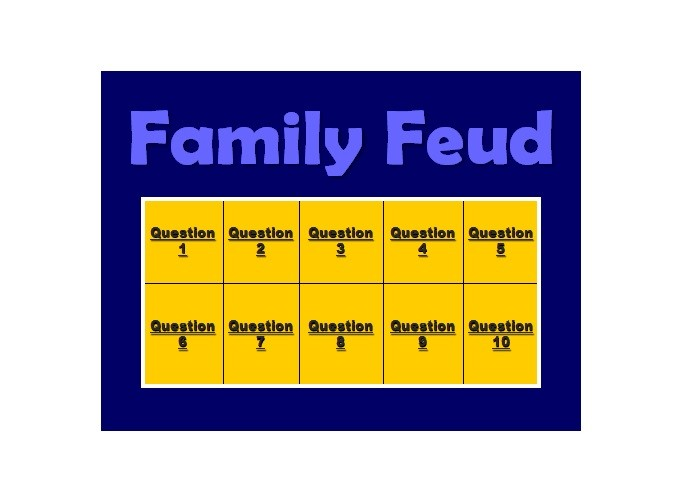 Free family feud template 21