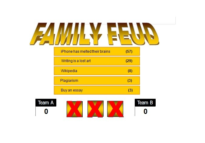 photograph about Family Feud Printable known as 31 Best Family members Feud Templates (PowerPoint, PDF Term) ᐅ