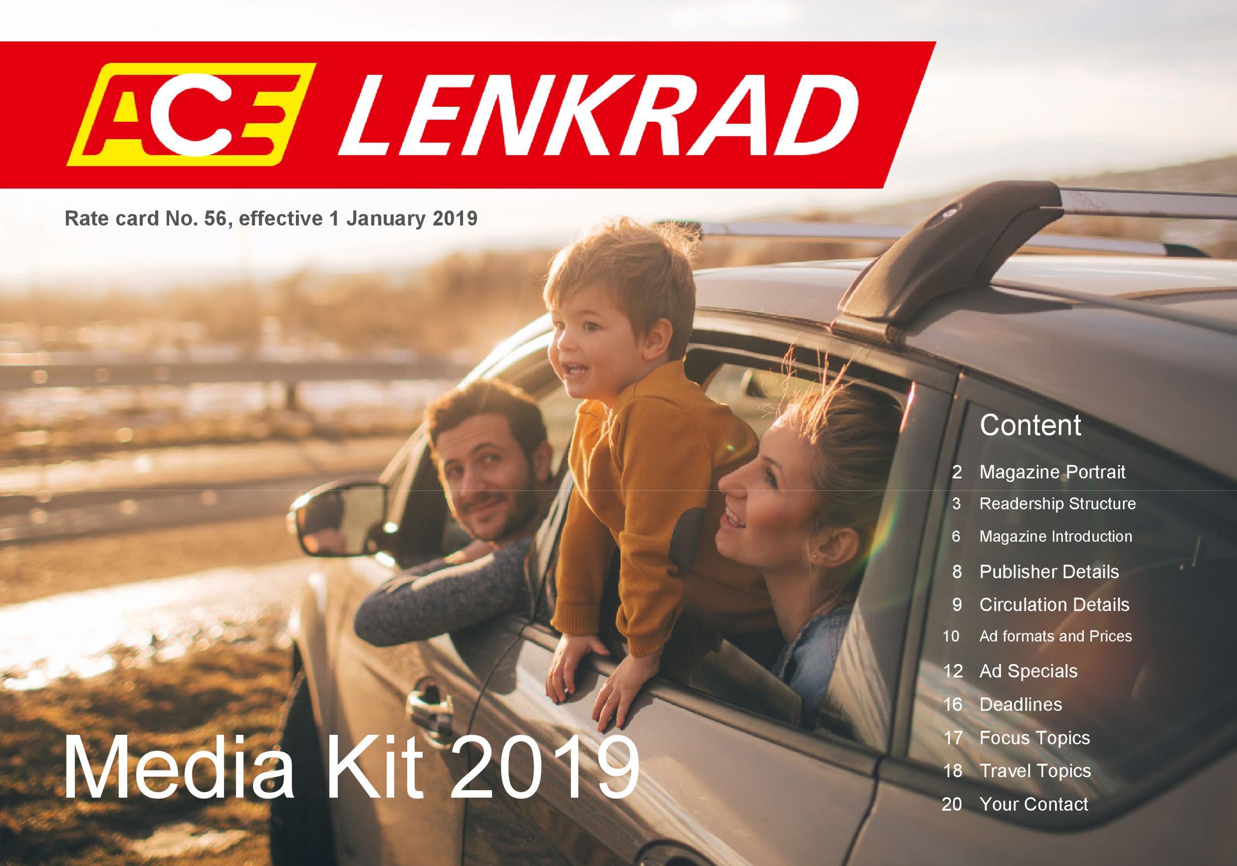 Free media kit template 12