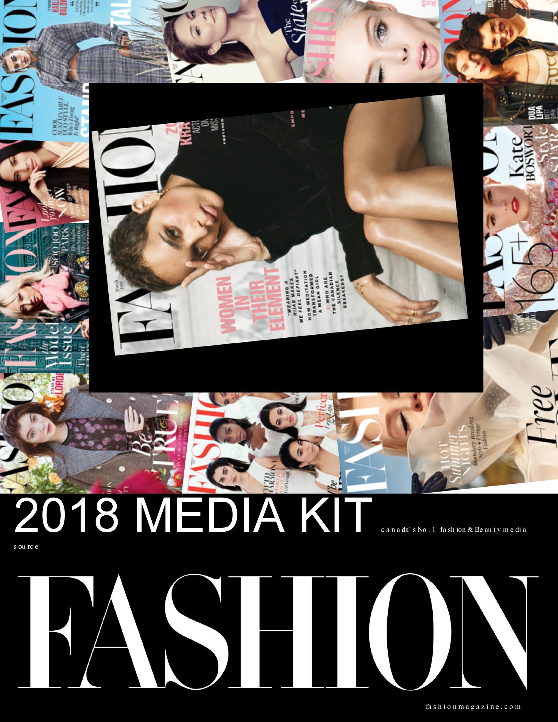 Free media kit template 15
