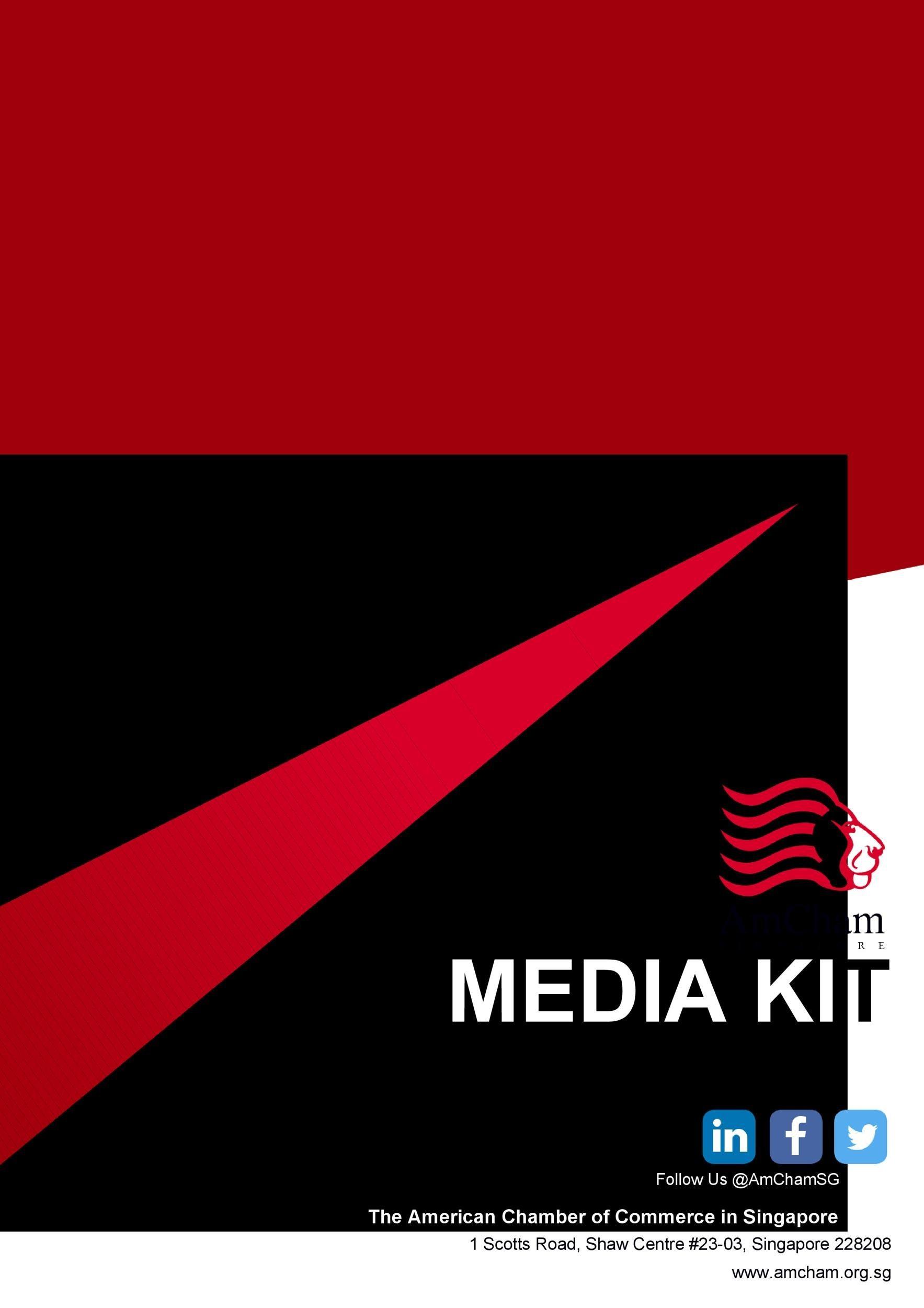 Free media kit template 16