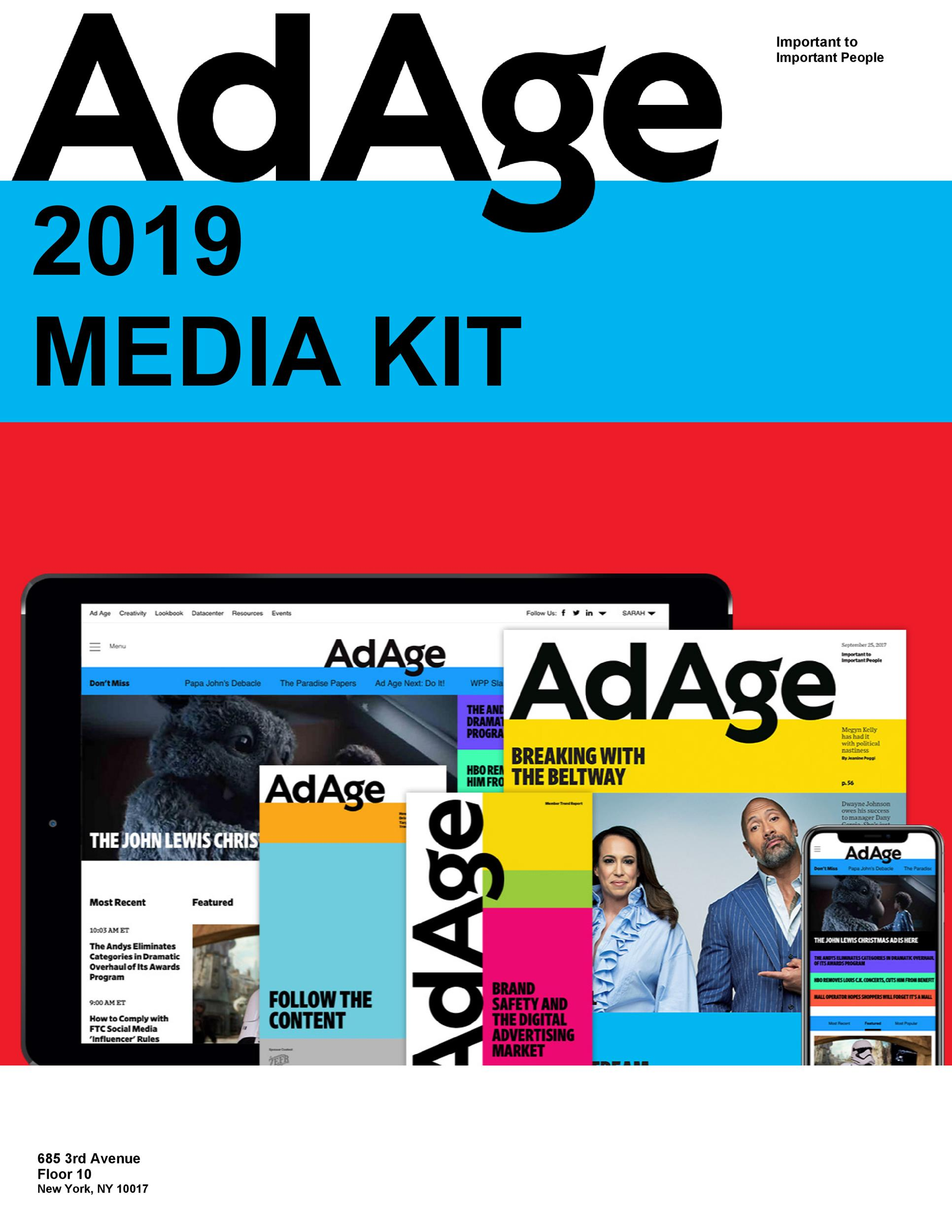 Free media kit template 20