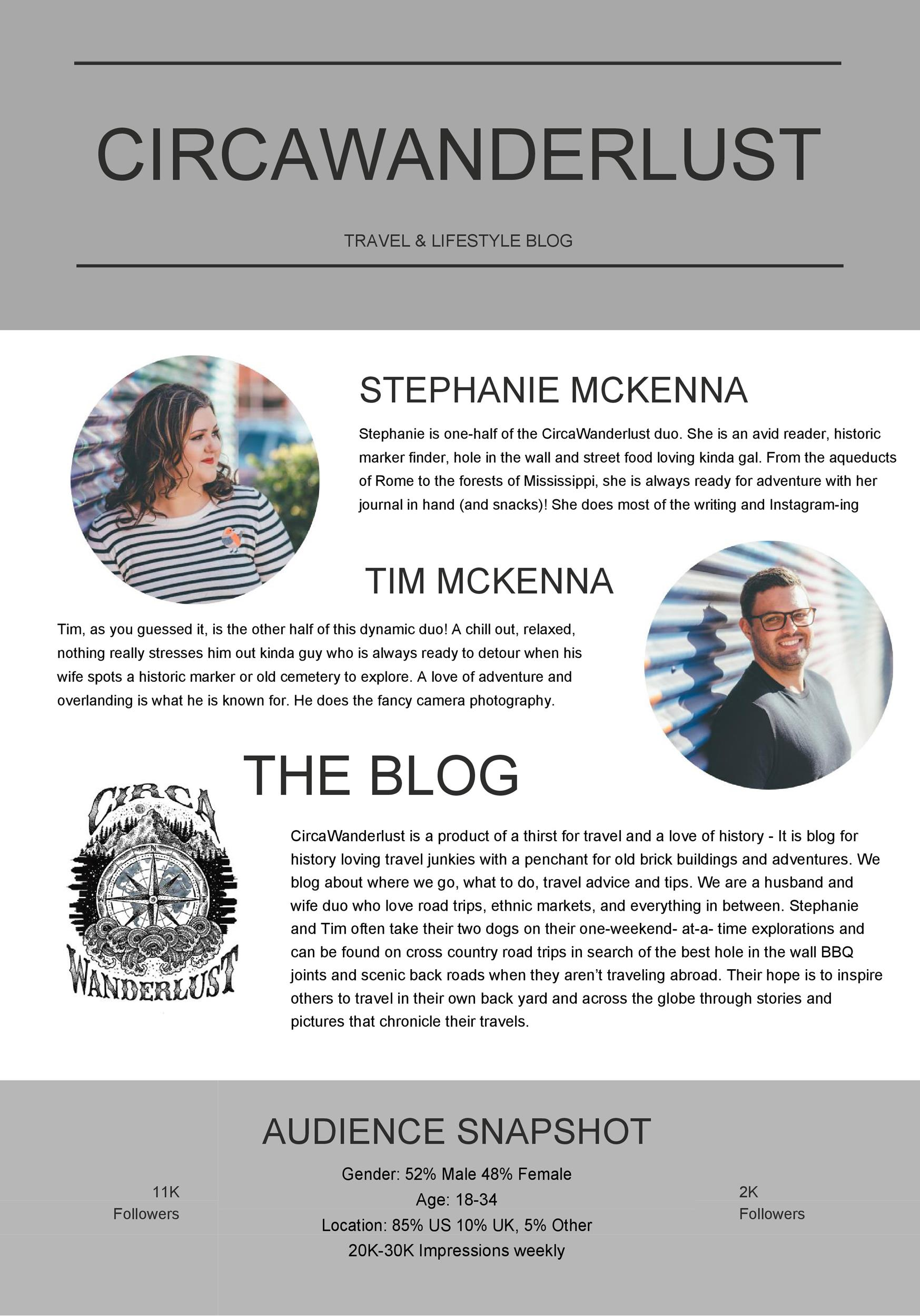 Free media kit template 24
