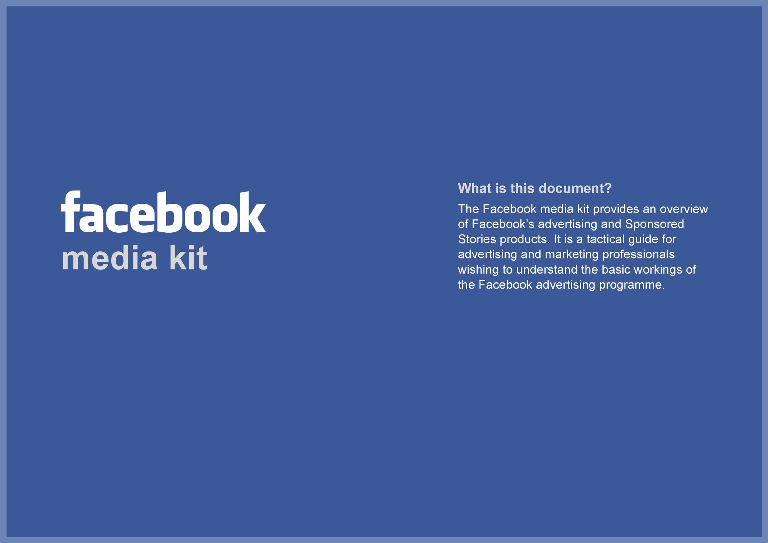 Free media kit template 26