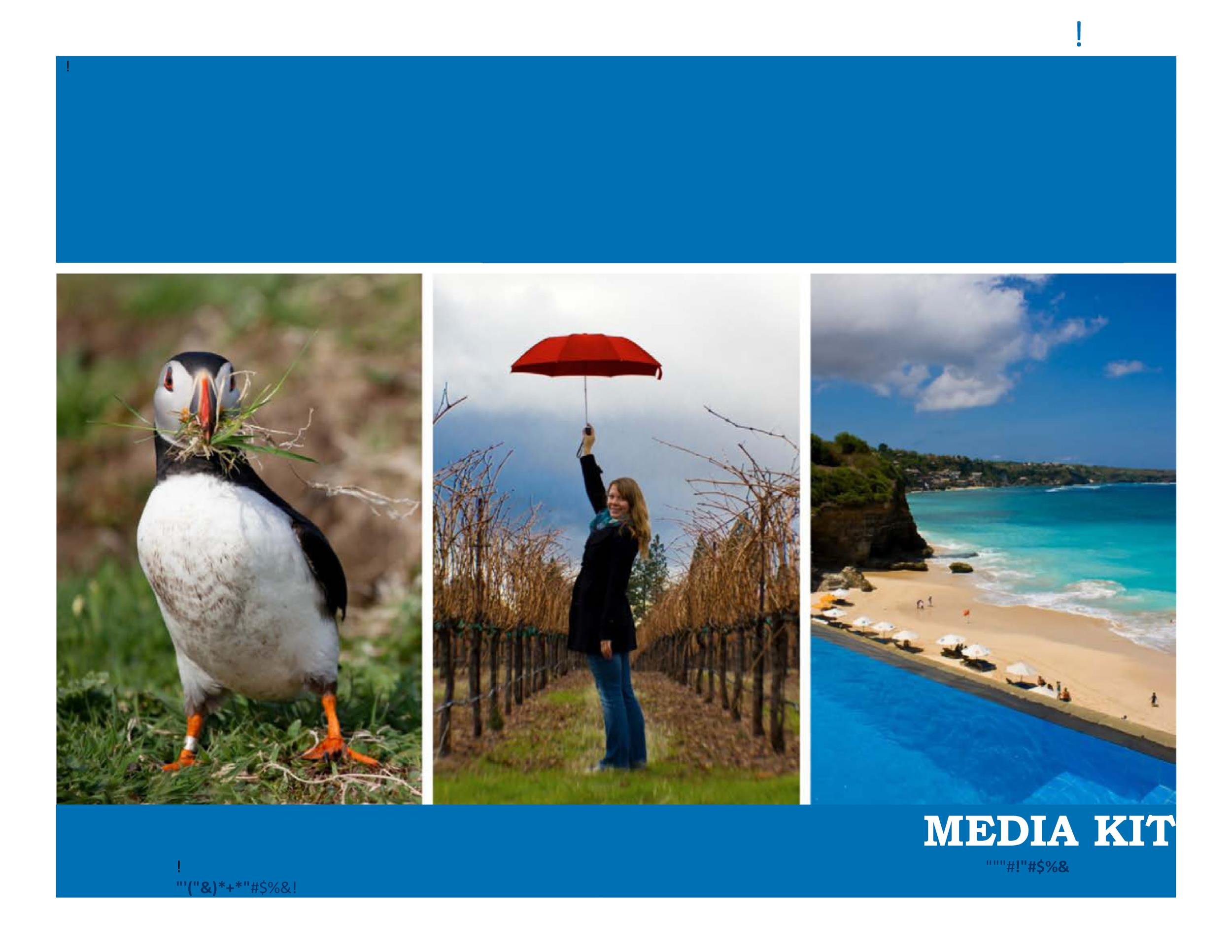 Free media kit template 28