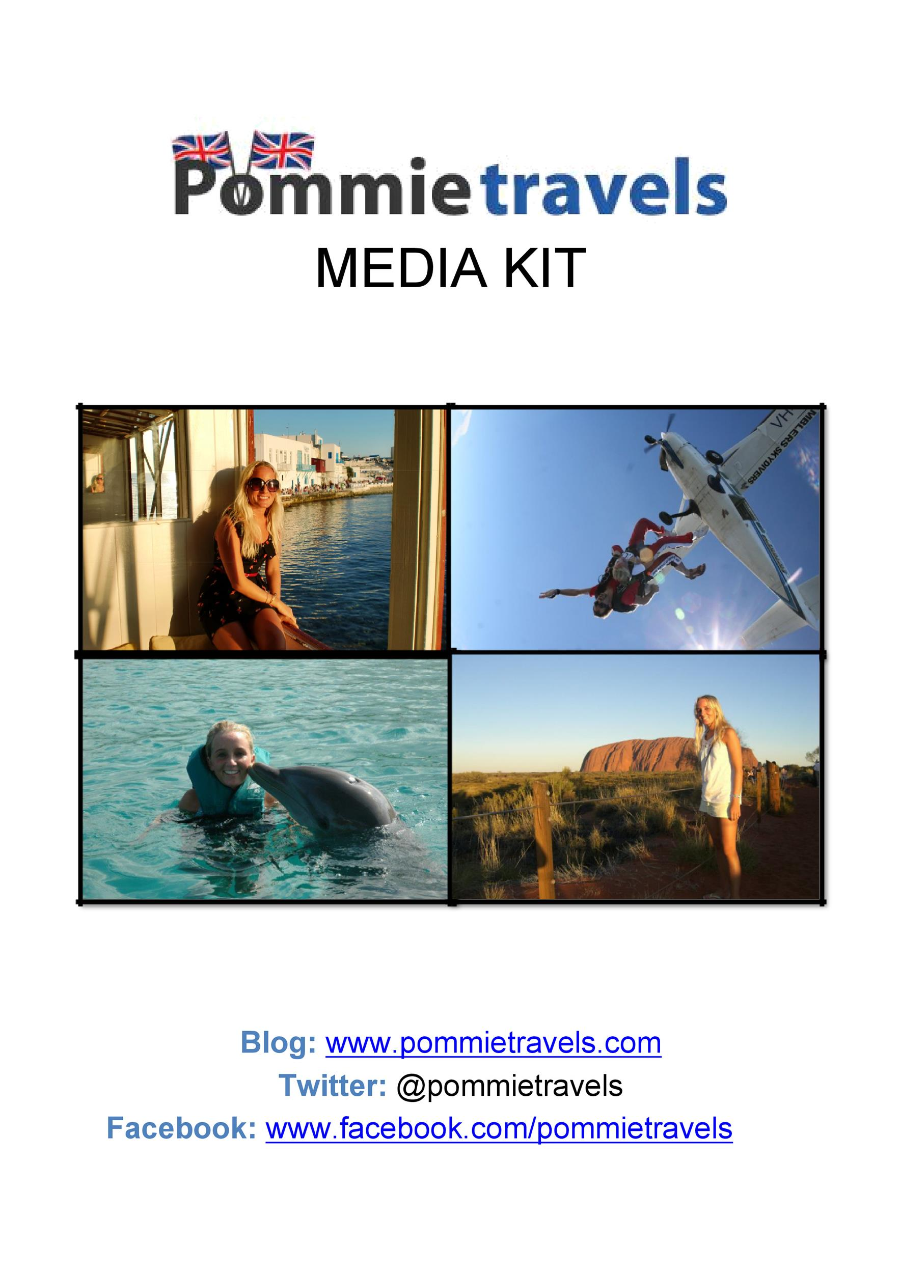 Free media kit template 36
