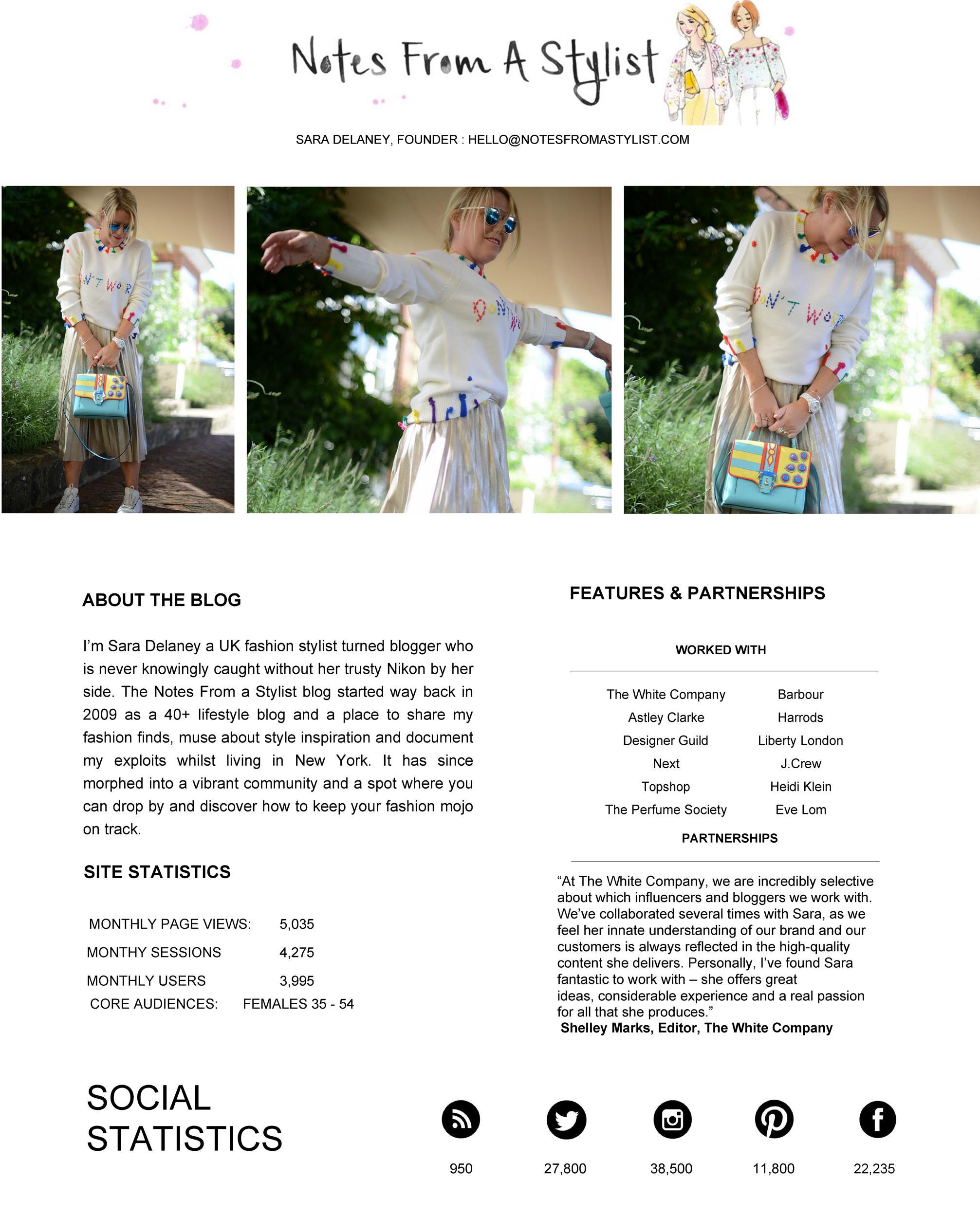 Free media kit template 49