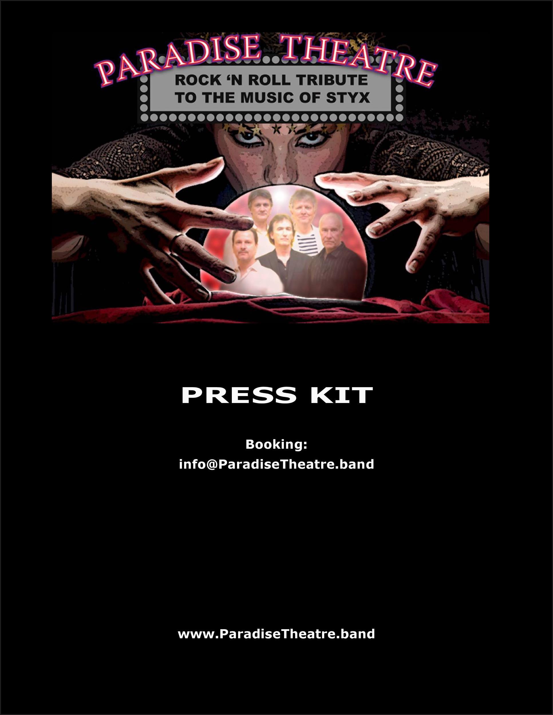 Free press kit template 30