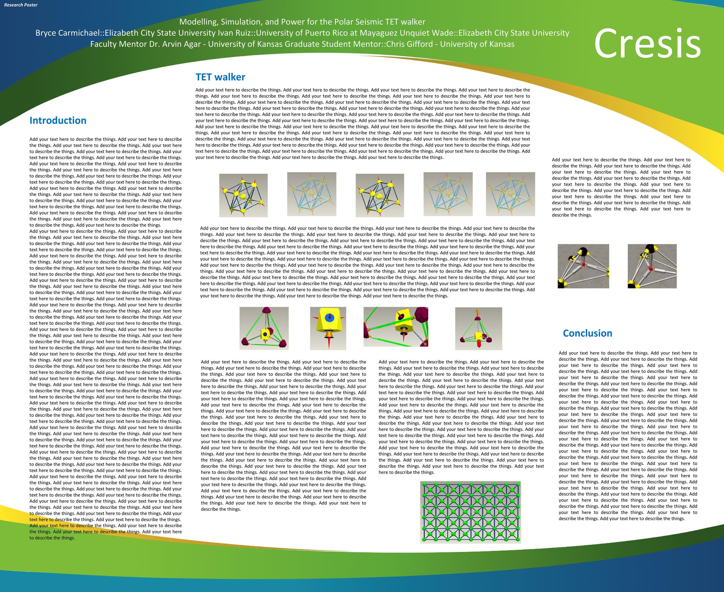 Free research poster template 36